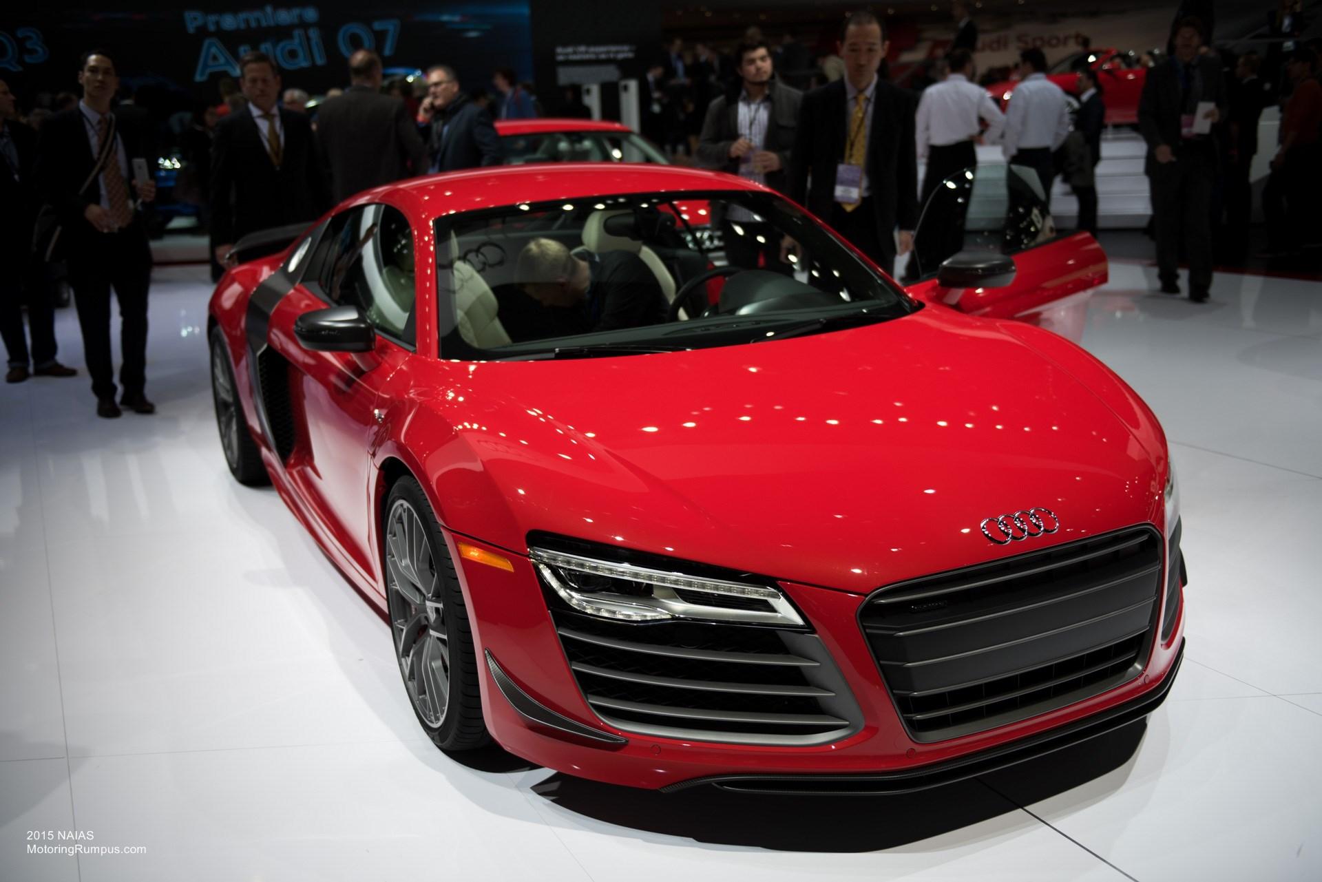 2015 NAIAS Audi R8