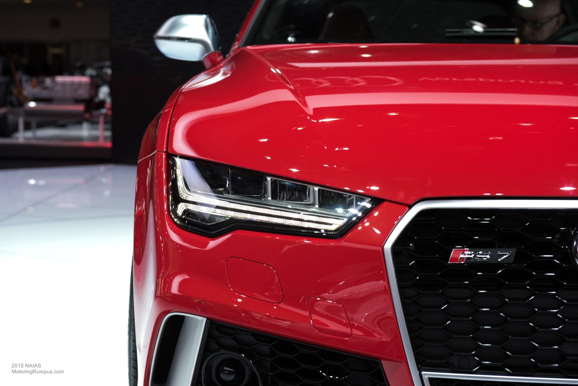 2015 NAIAS Audi RS7 Headlight