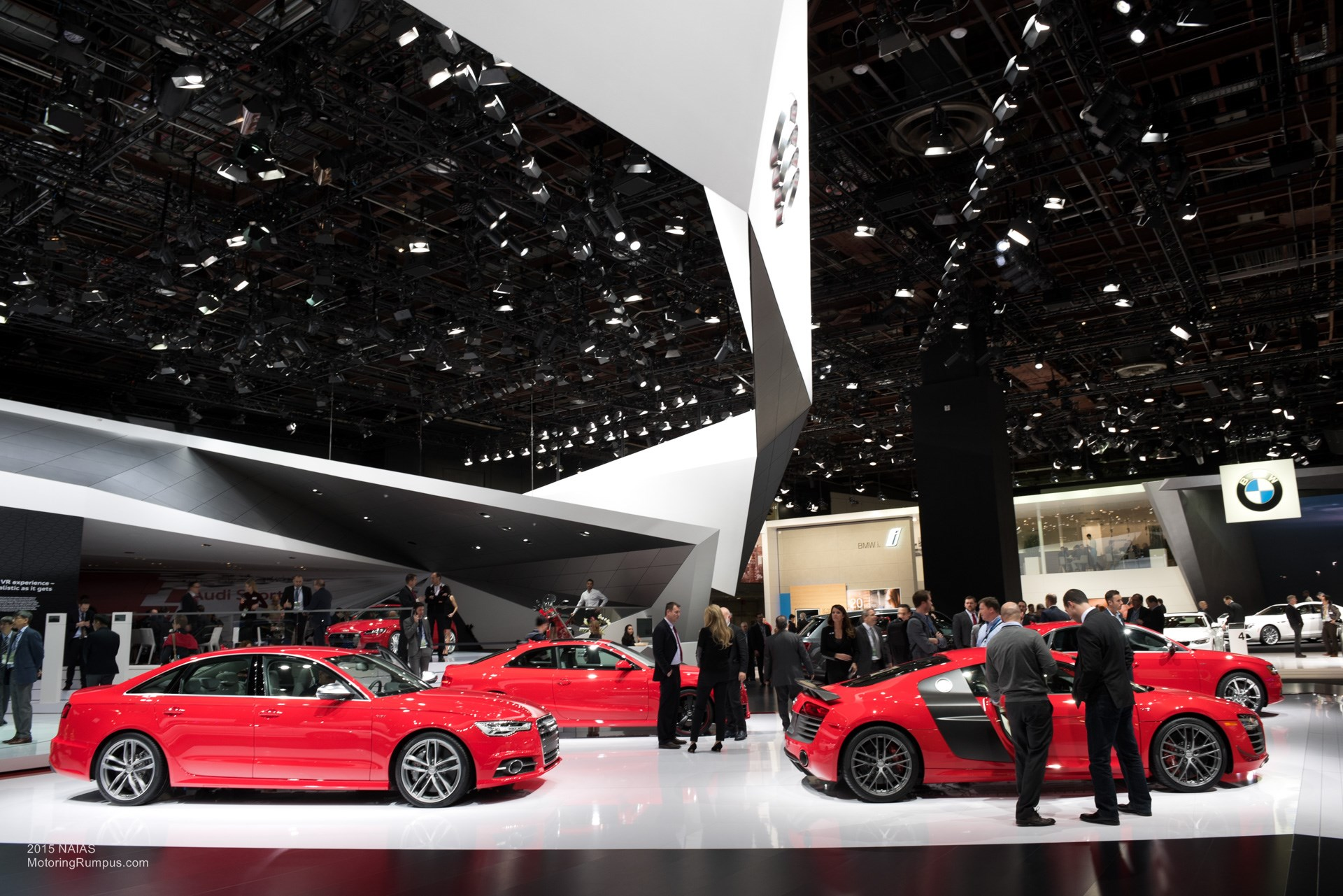 2015 NAIAS Audi Red