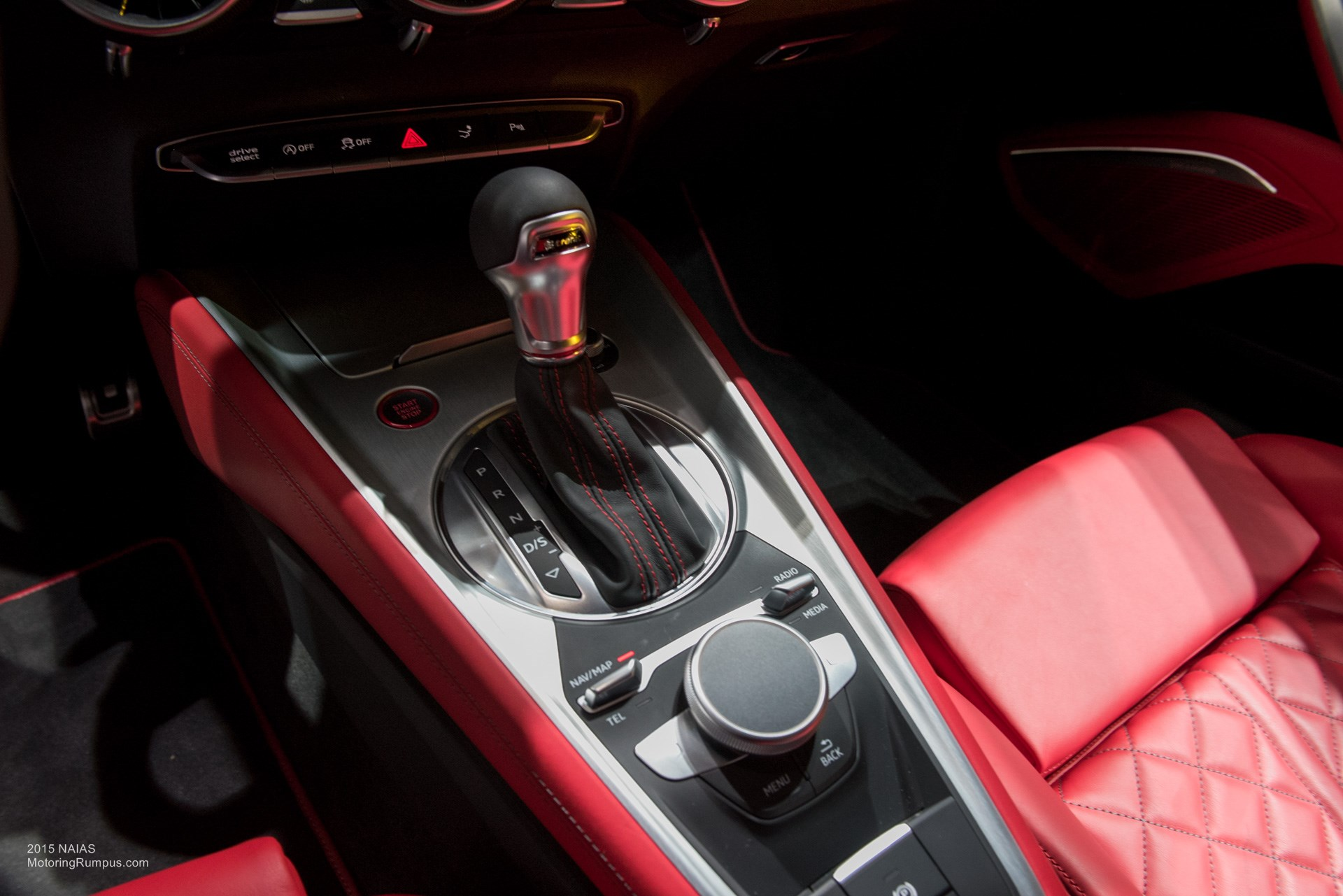 2015 NAIAS Audi TTS Center Console