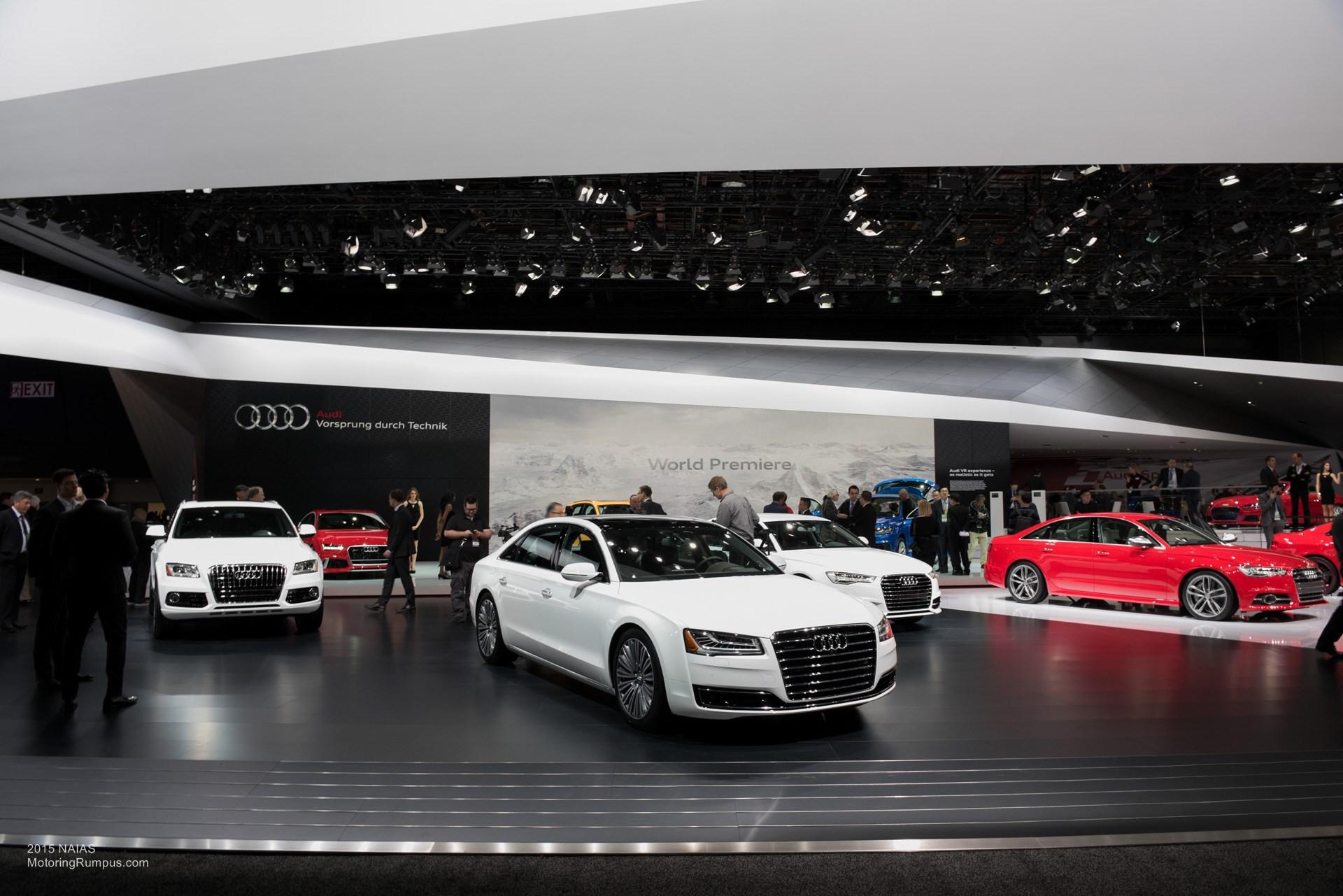2015 NAIAS Audi White