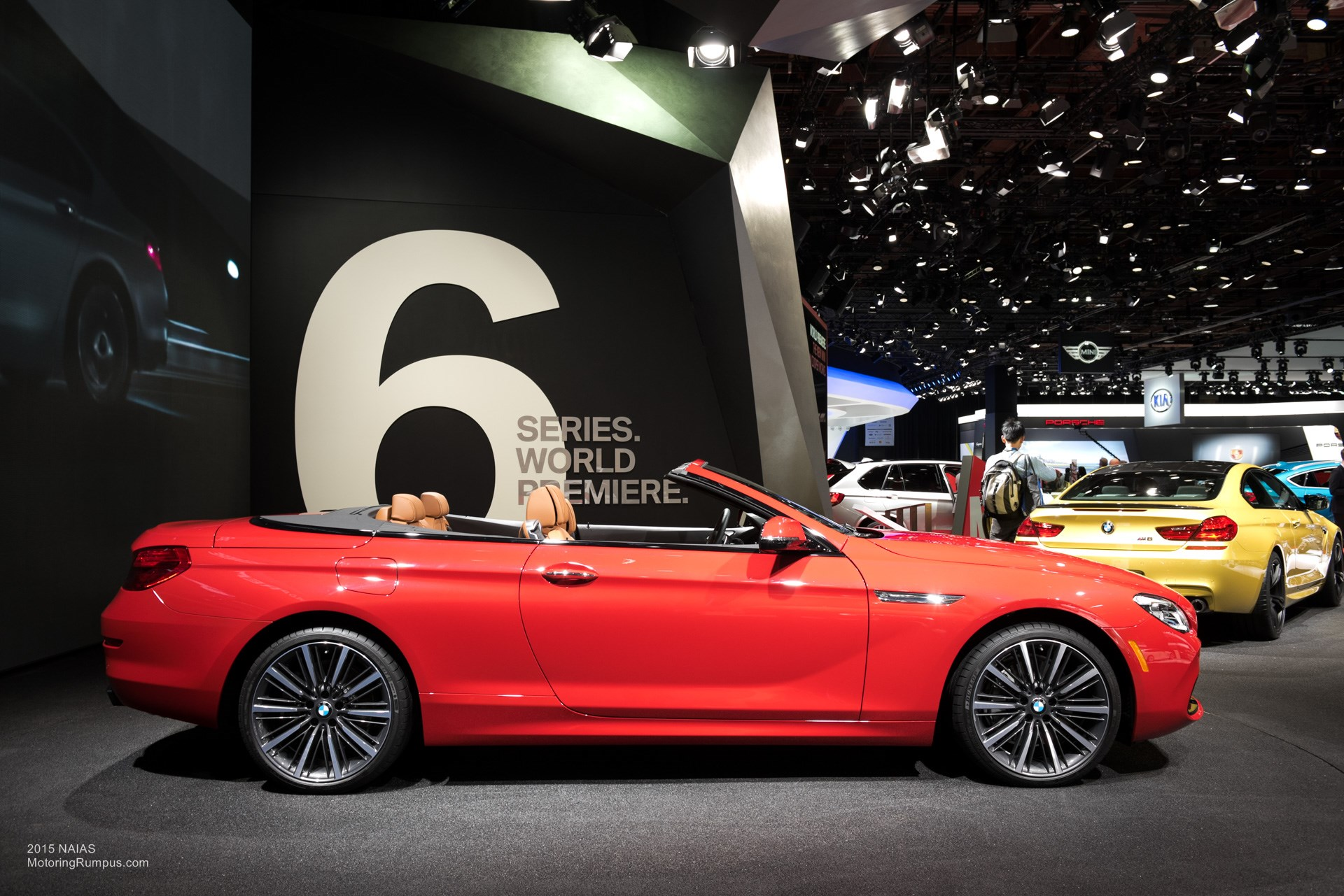 2015 NAIAS BMW 650i Convertible Side