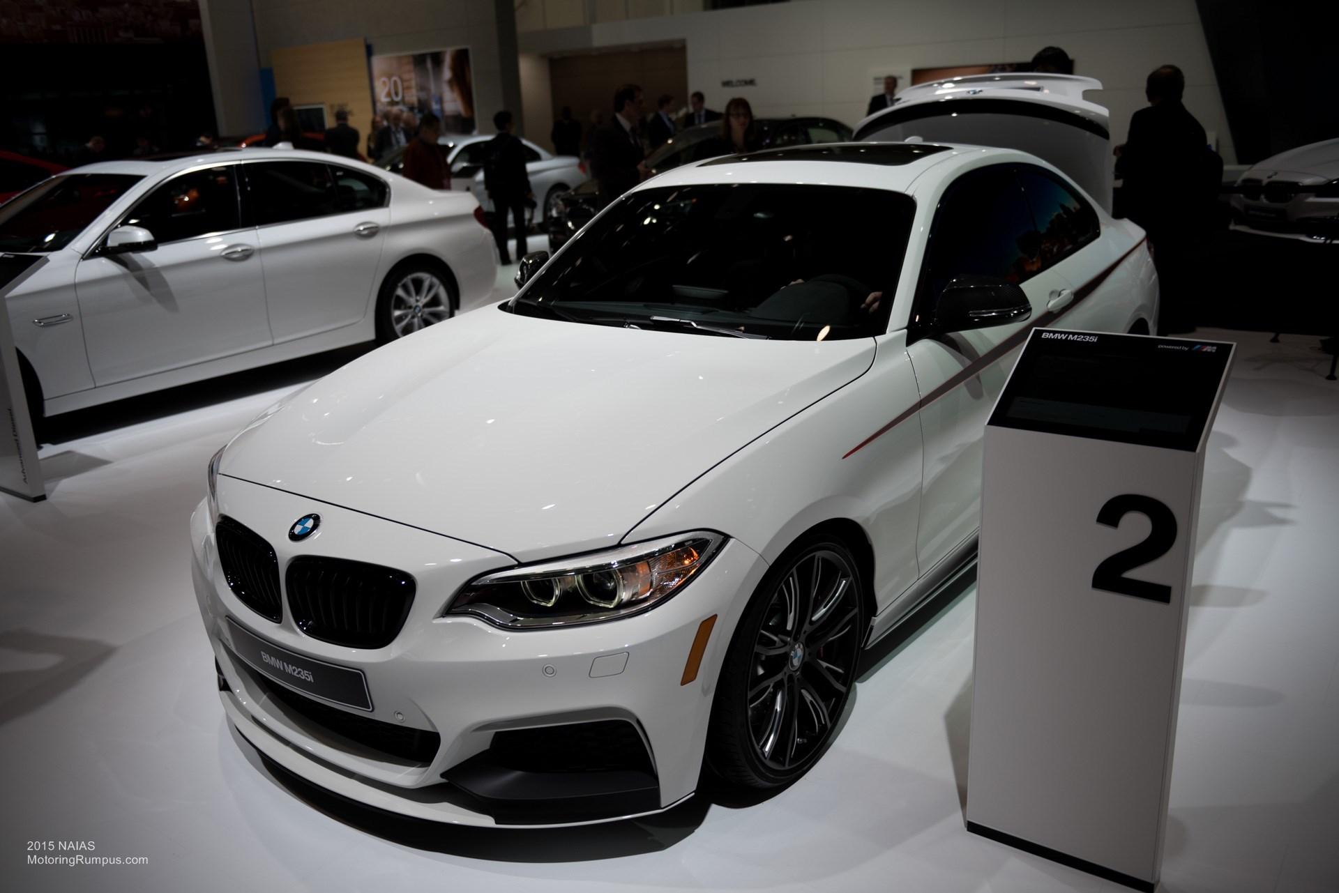 2015 NAIAS BMW M235i