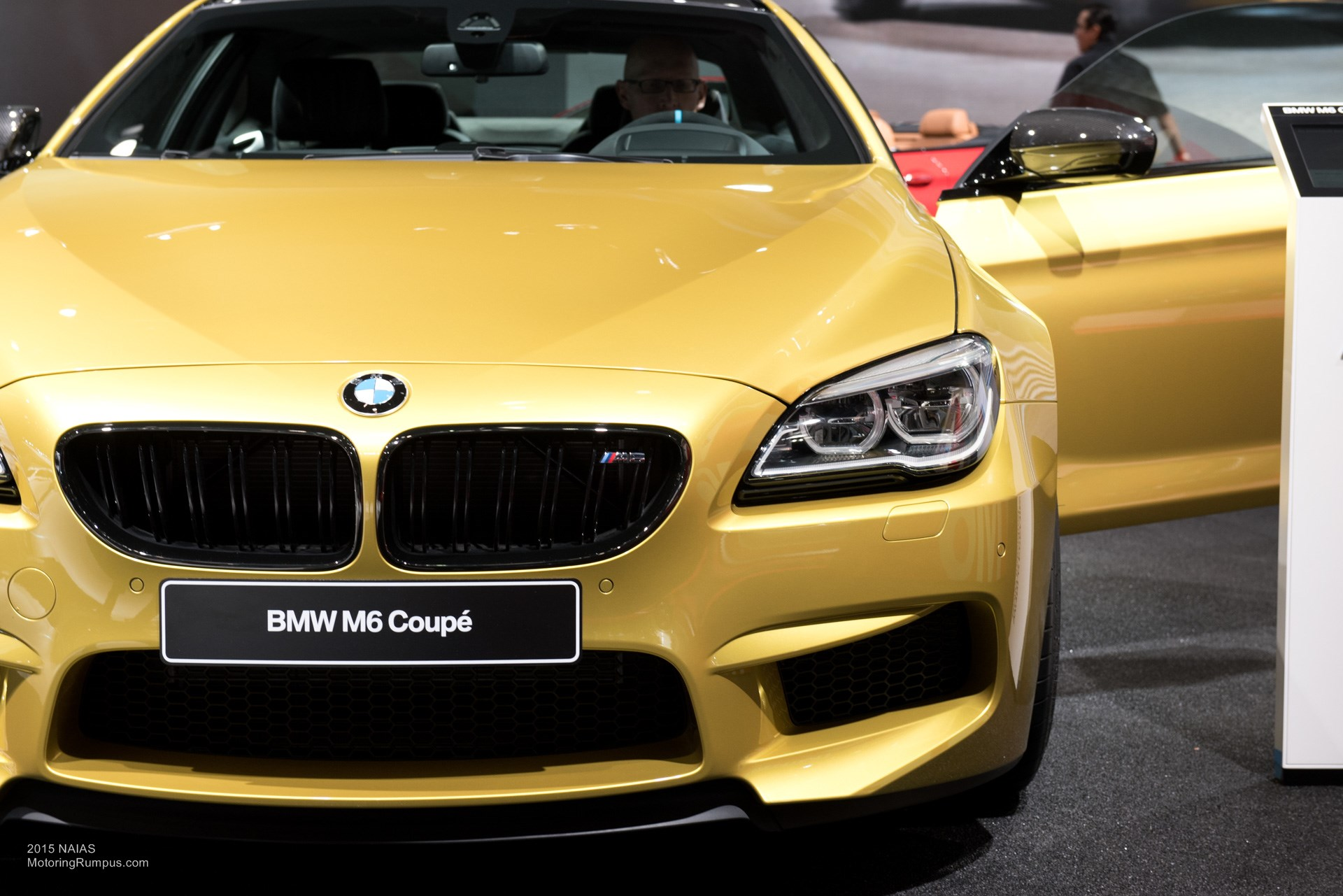 2015 NAIAS BMW M6 Front