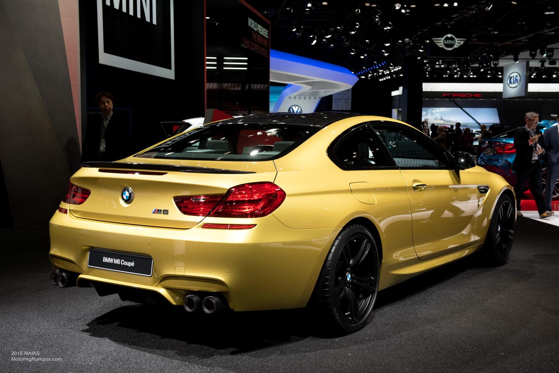 2015 NAIAS BMW M6 Rear
