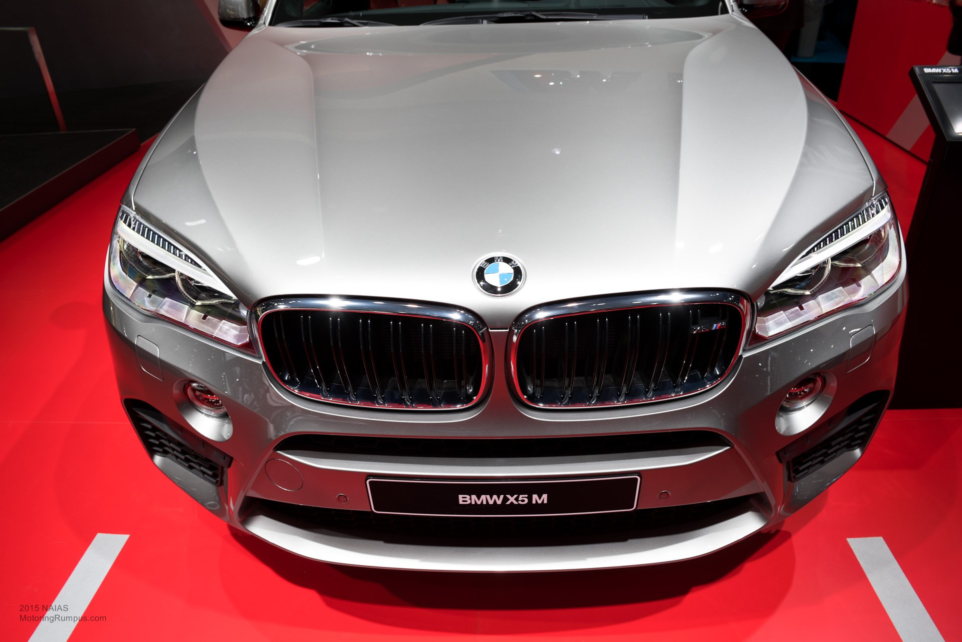 2015 NAIAS BMW X5M Front