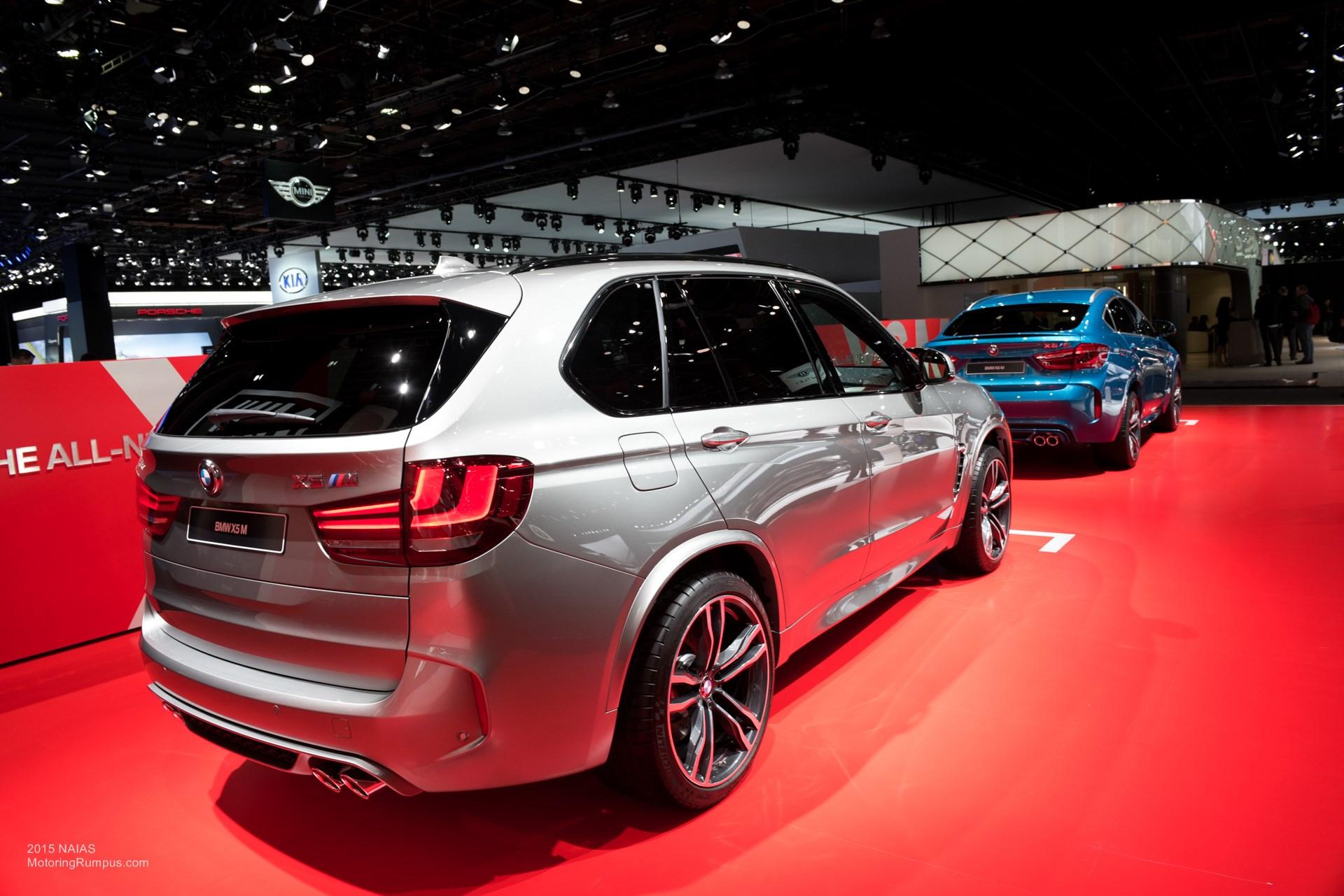 2015 NAIAS BMW X5M