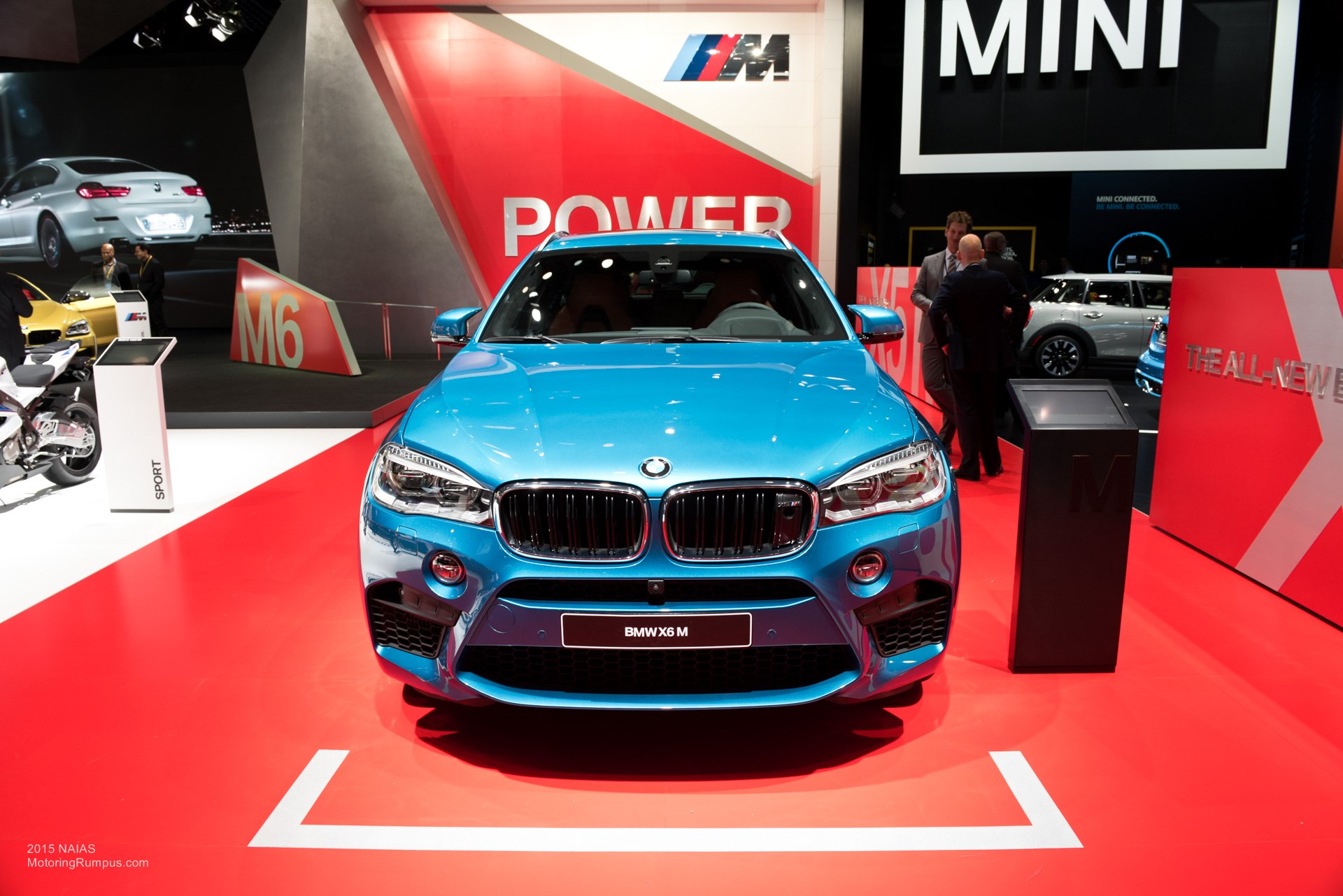 2015 NAIAS BMW X6M
