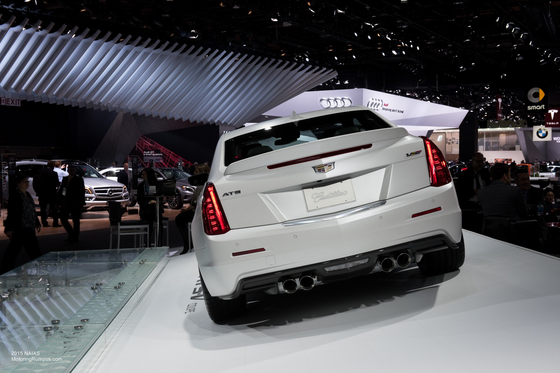 2015 NAIAS Cadillac ATS-V Coupe Rear