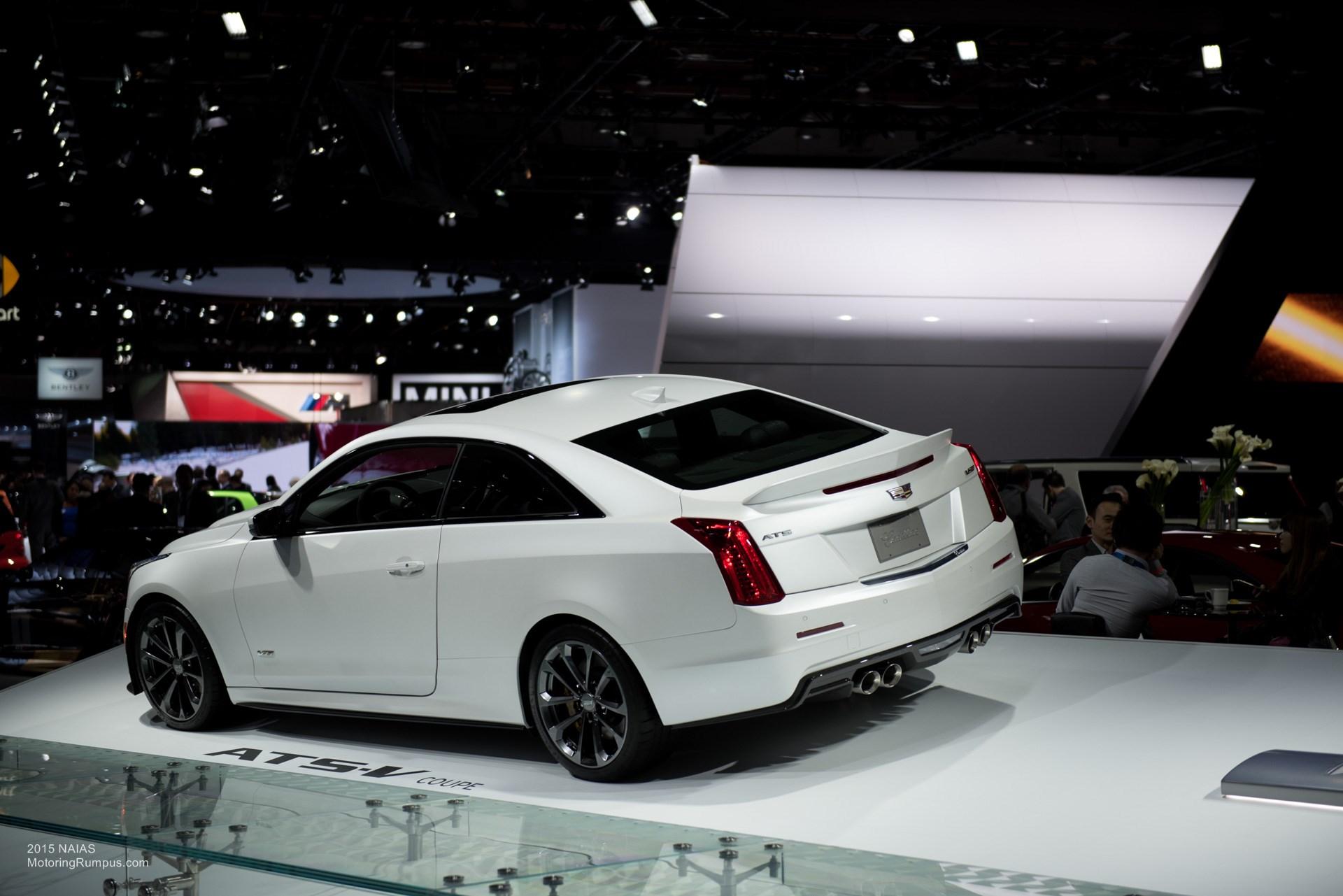 2015 NAIAS Cadillac ATS-V Coupe