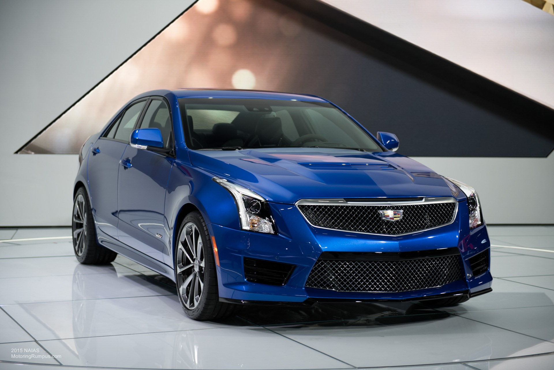2015 NAIAS Cadillac ATS-V Sedan