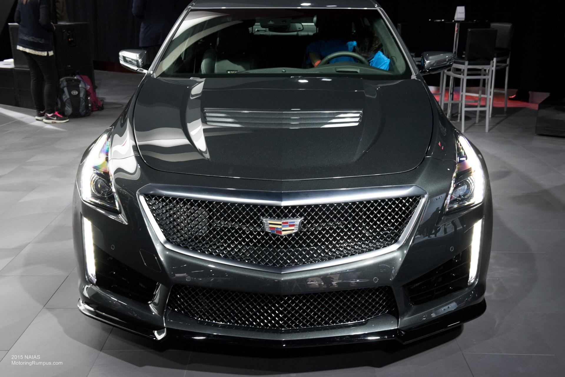 2015 NAIAS Cadillac CTS-V Front