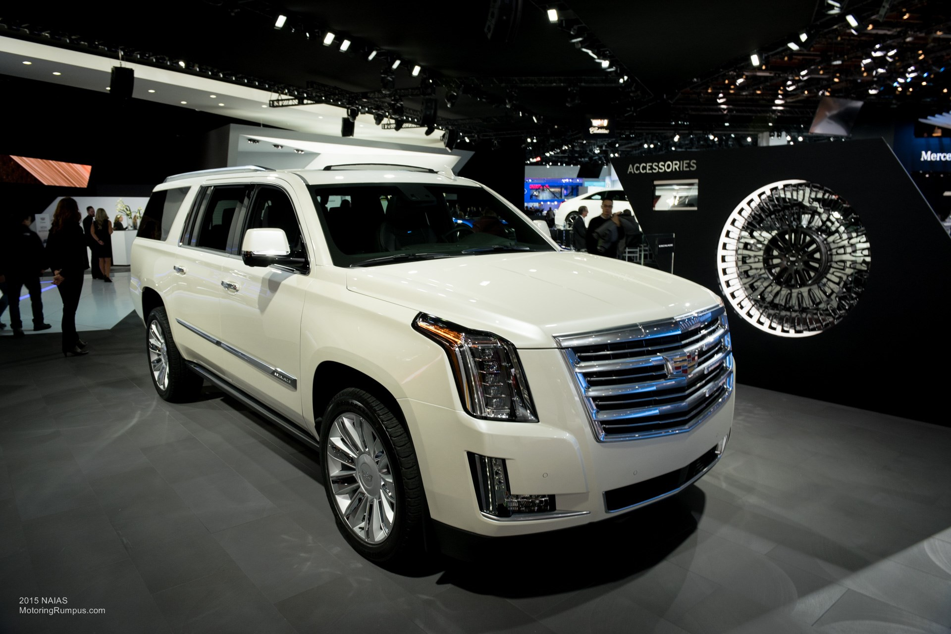 2015 NAIAS Cadillac Escalade