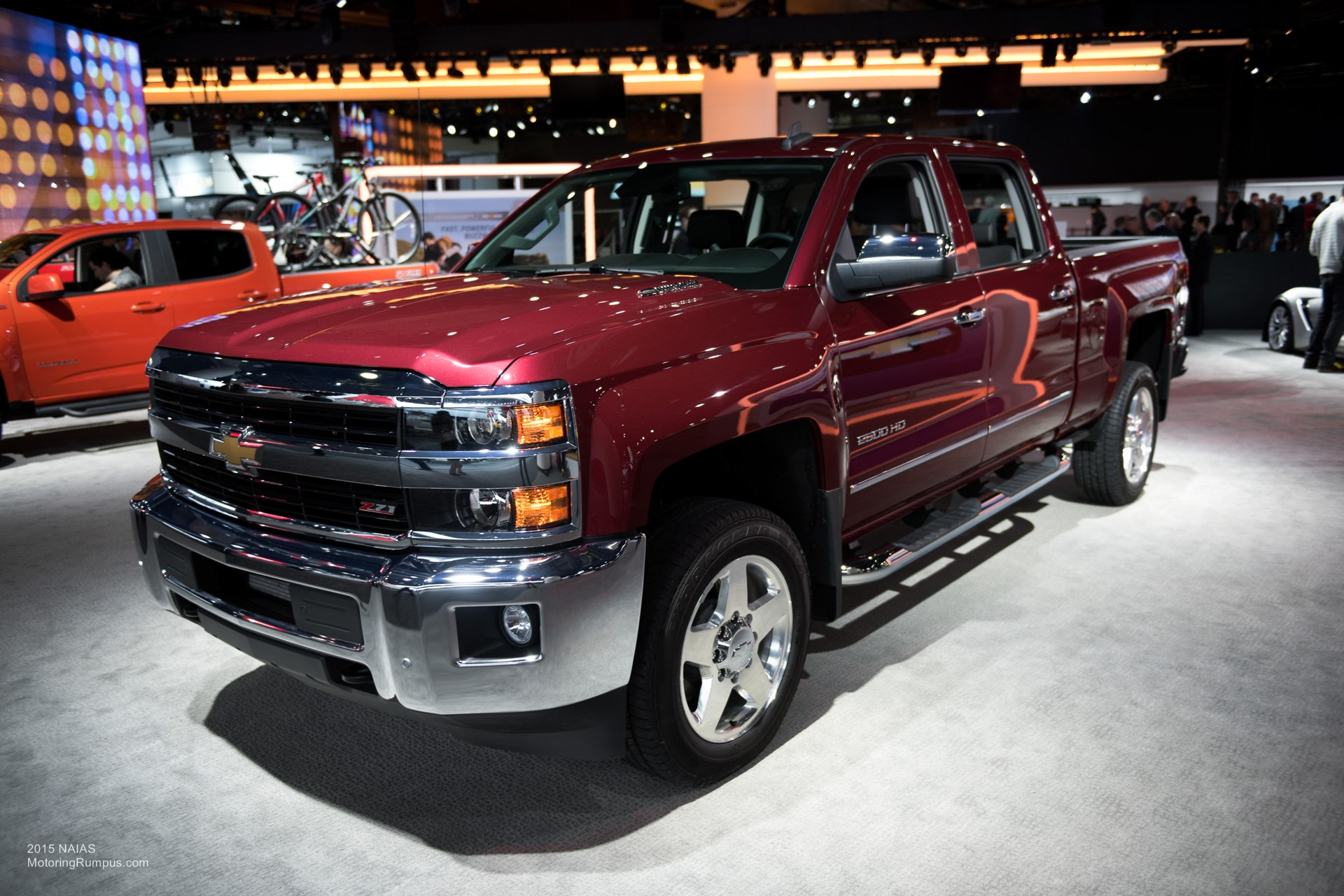 2015 NAIAS Chevy Silverado 2500HD LTZ