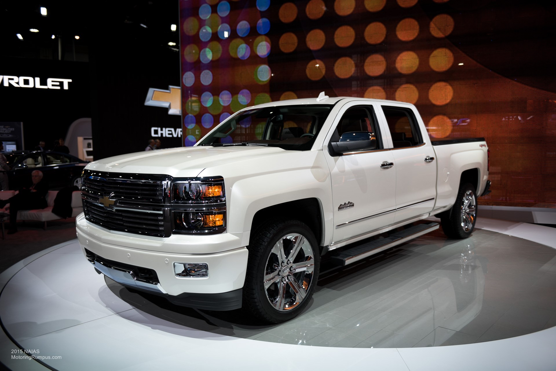 2015 NAIAS Chevy Silverado High Country