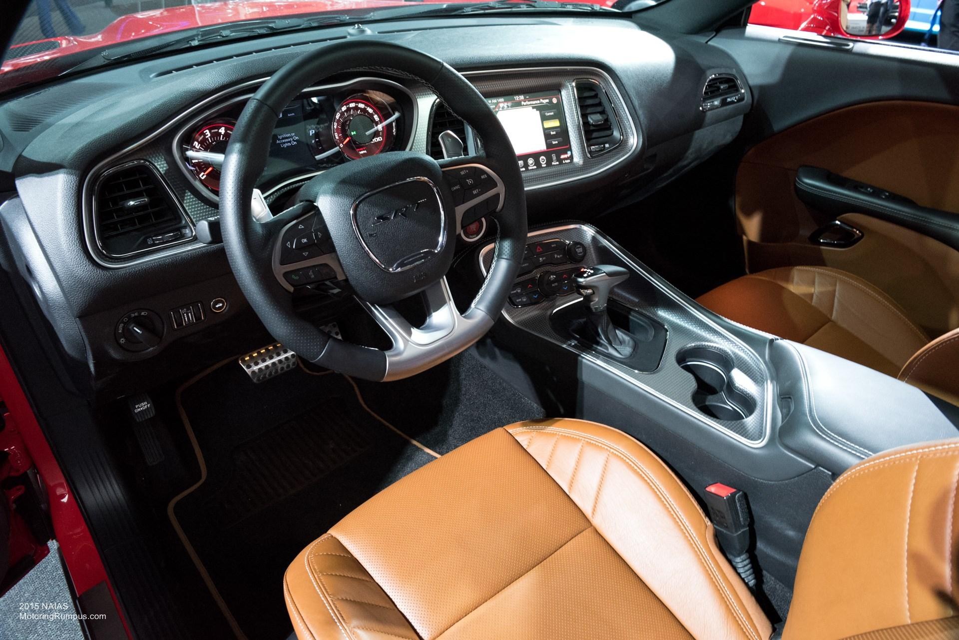 2015 NAIAS Dodge Challenger SRT Hellcat Laguna Leather