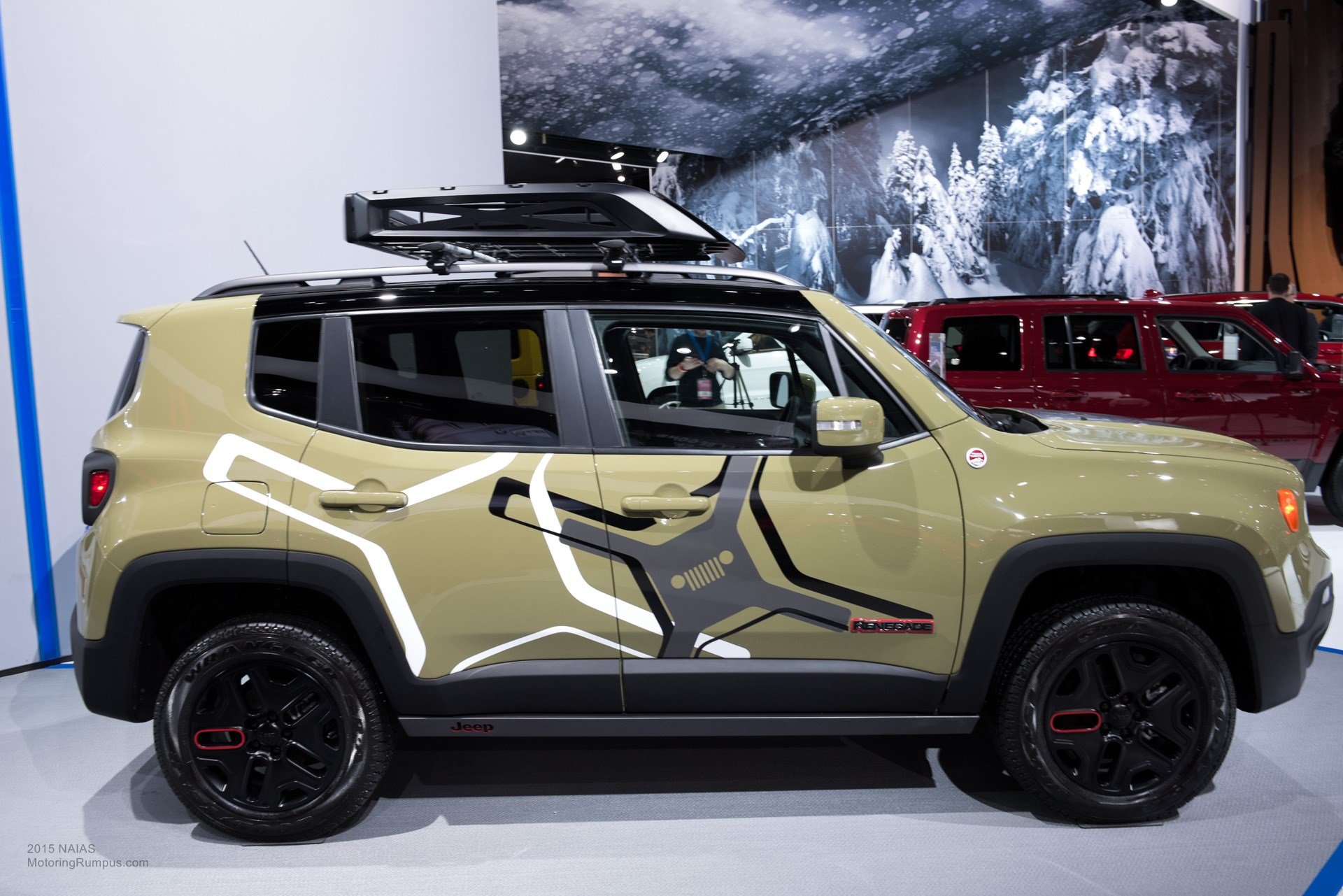 2015 NAIAS Jeep Off-road Mopar-equipped Renegade