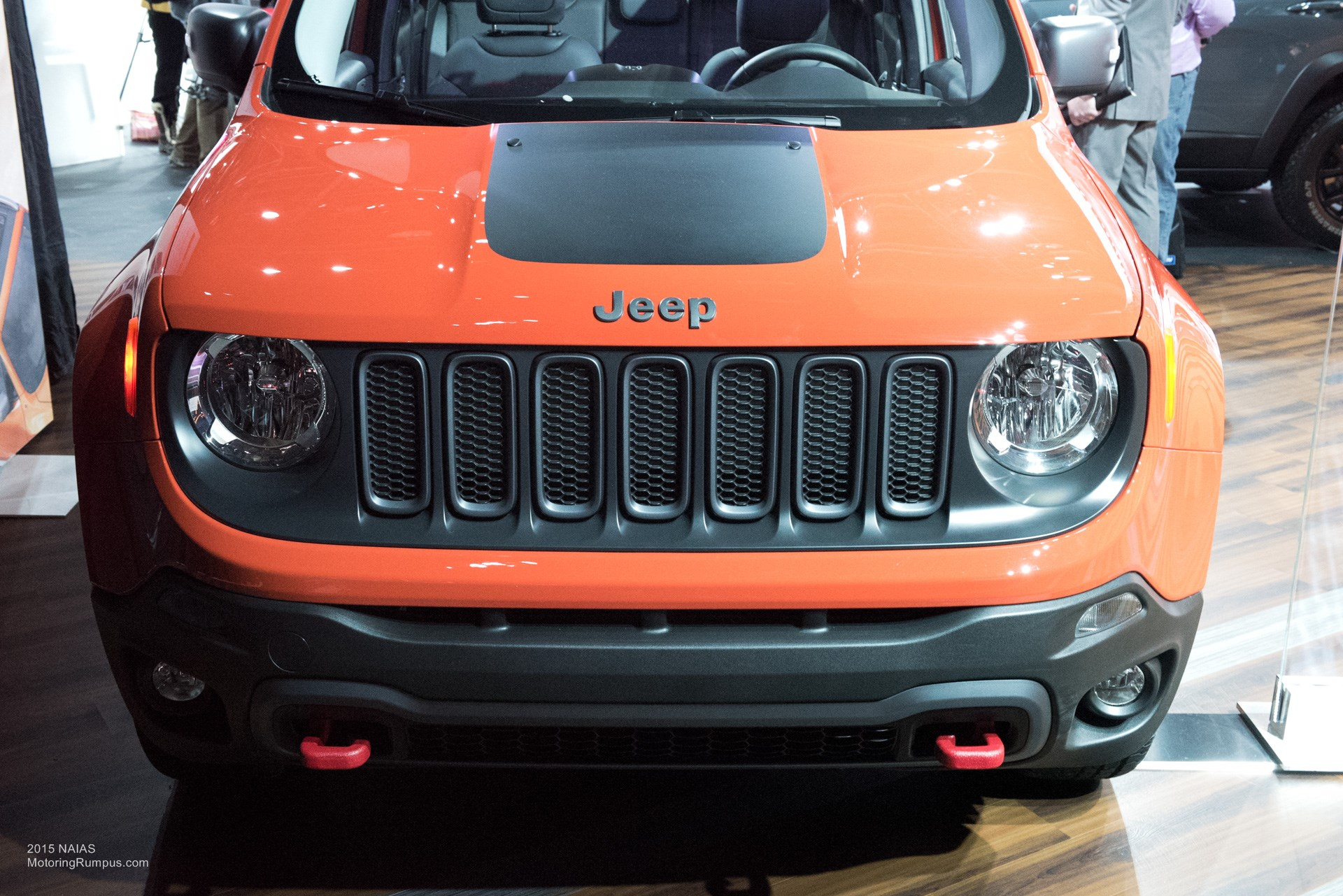 2015 NAIAS Jeep Renegade Trailhawk