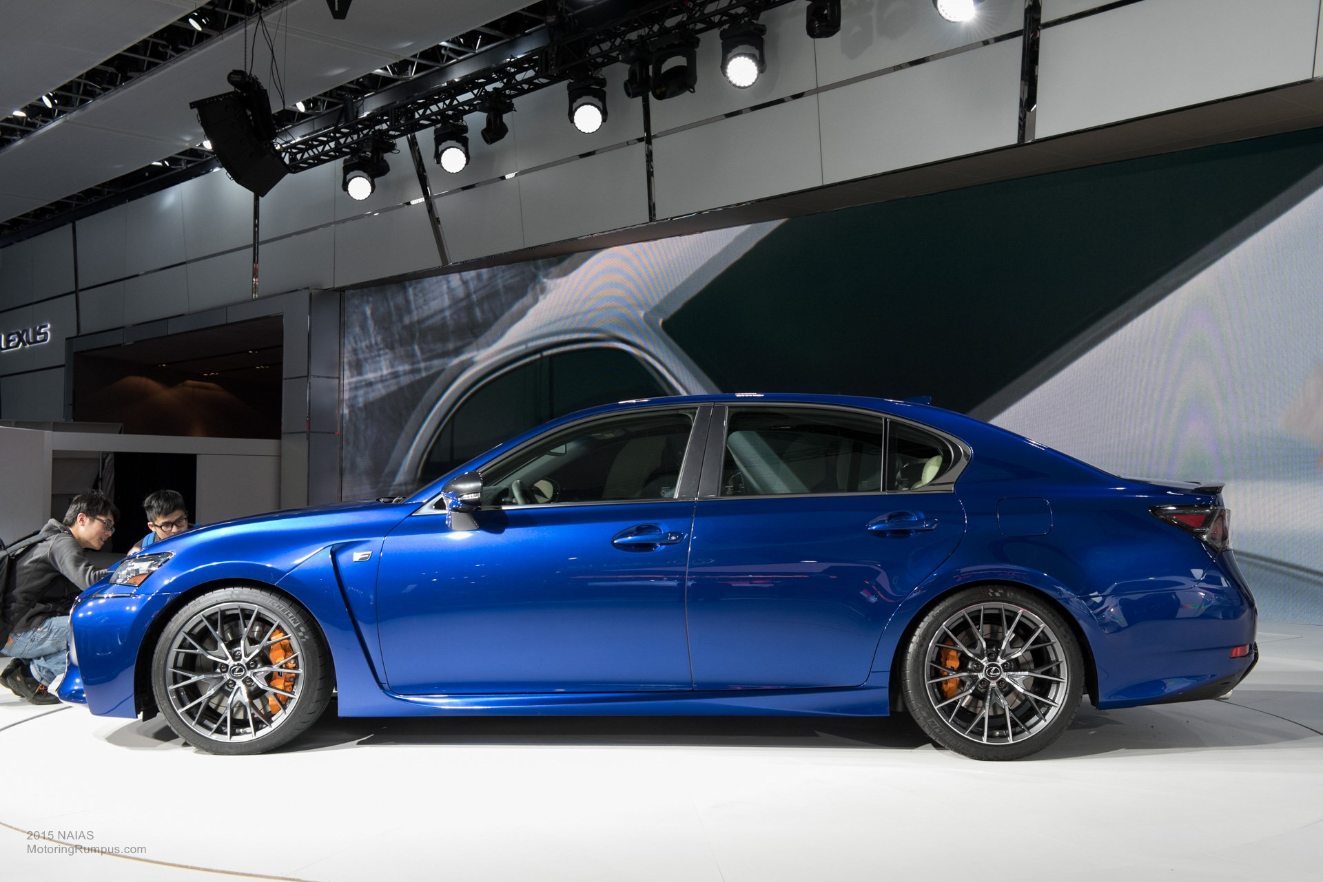 2015 NAIAS Lexus GS F Debut
