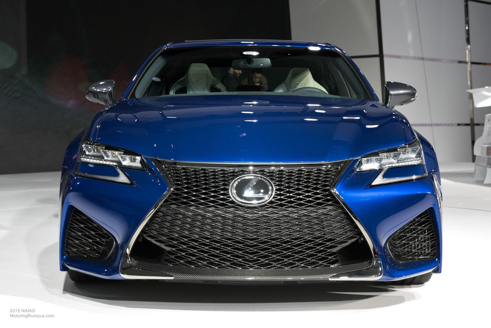 2015 NAIAS Lexus GS F Front