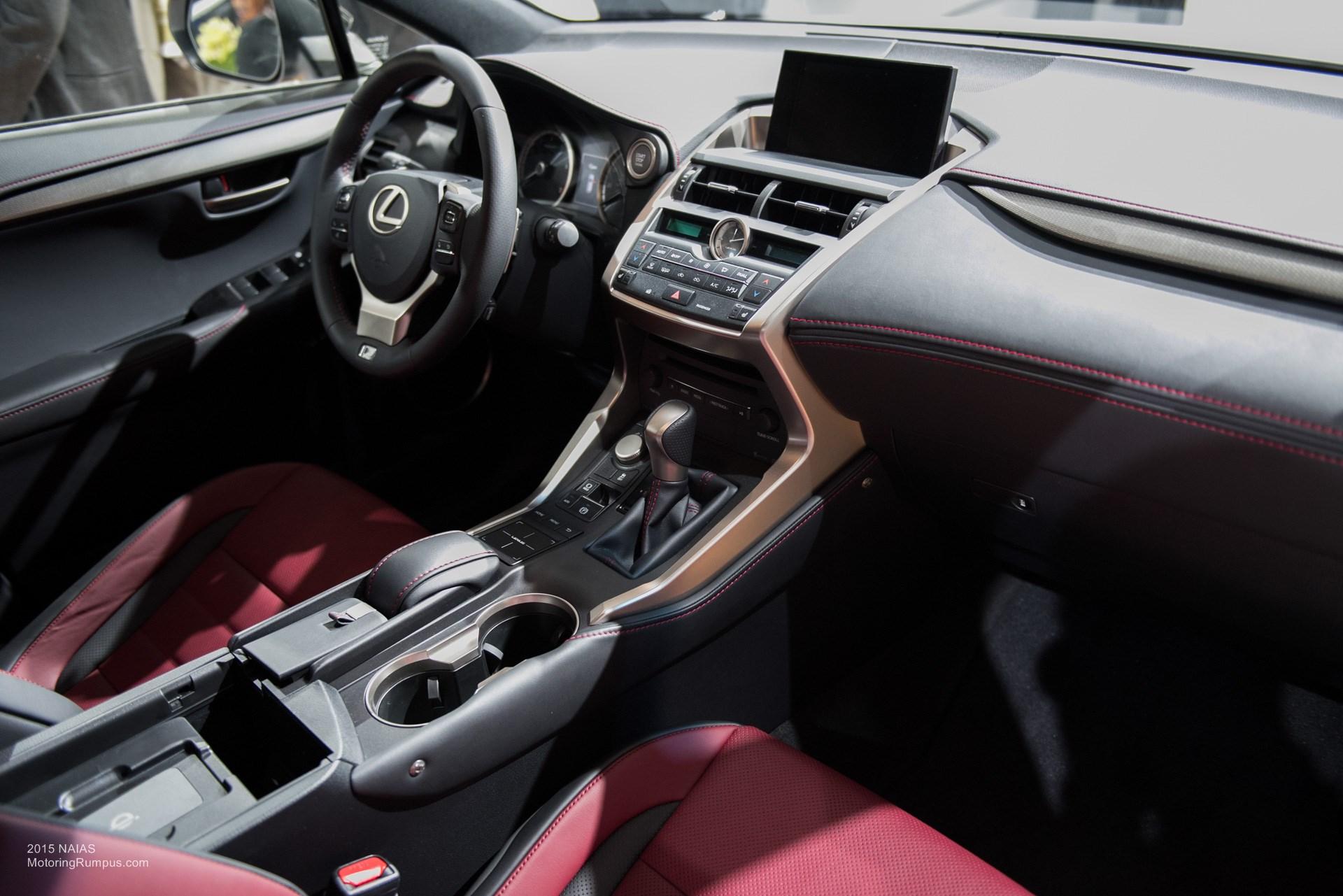 2015 NAIAS Lexus RC F Interior