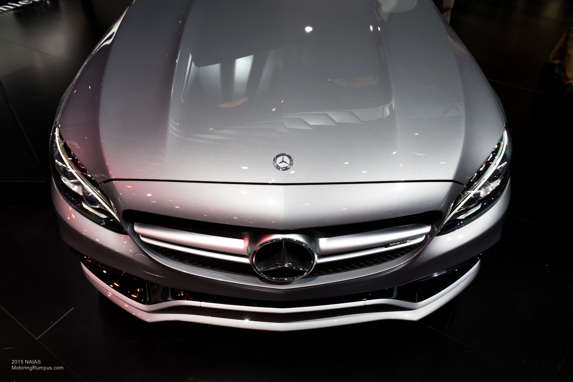 2015 Naias Mercedes Amg C63 S Front End Motoring Rumpus