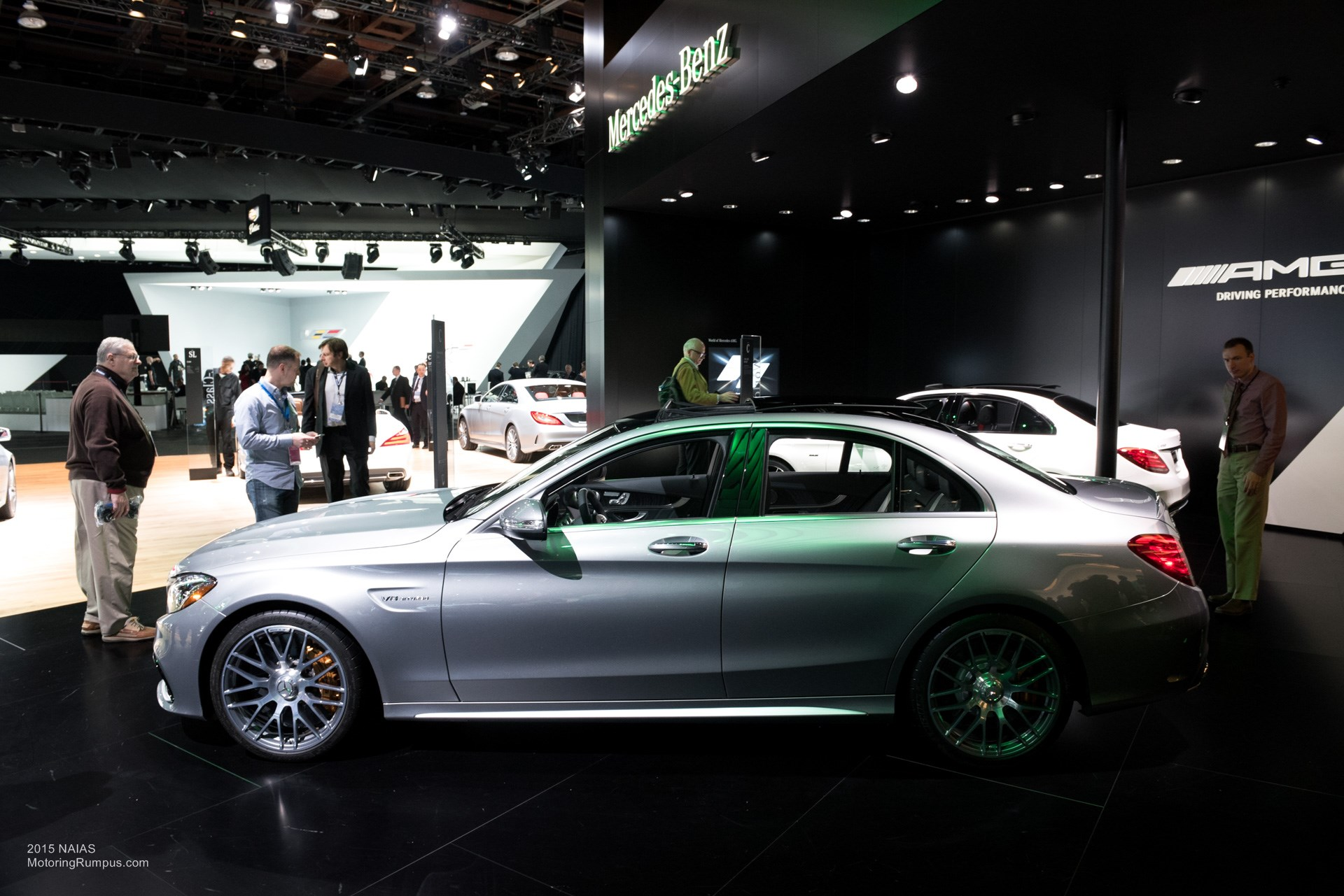 2015 NAIAS Mercedes-AMG C63 S