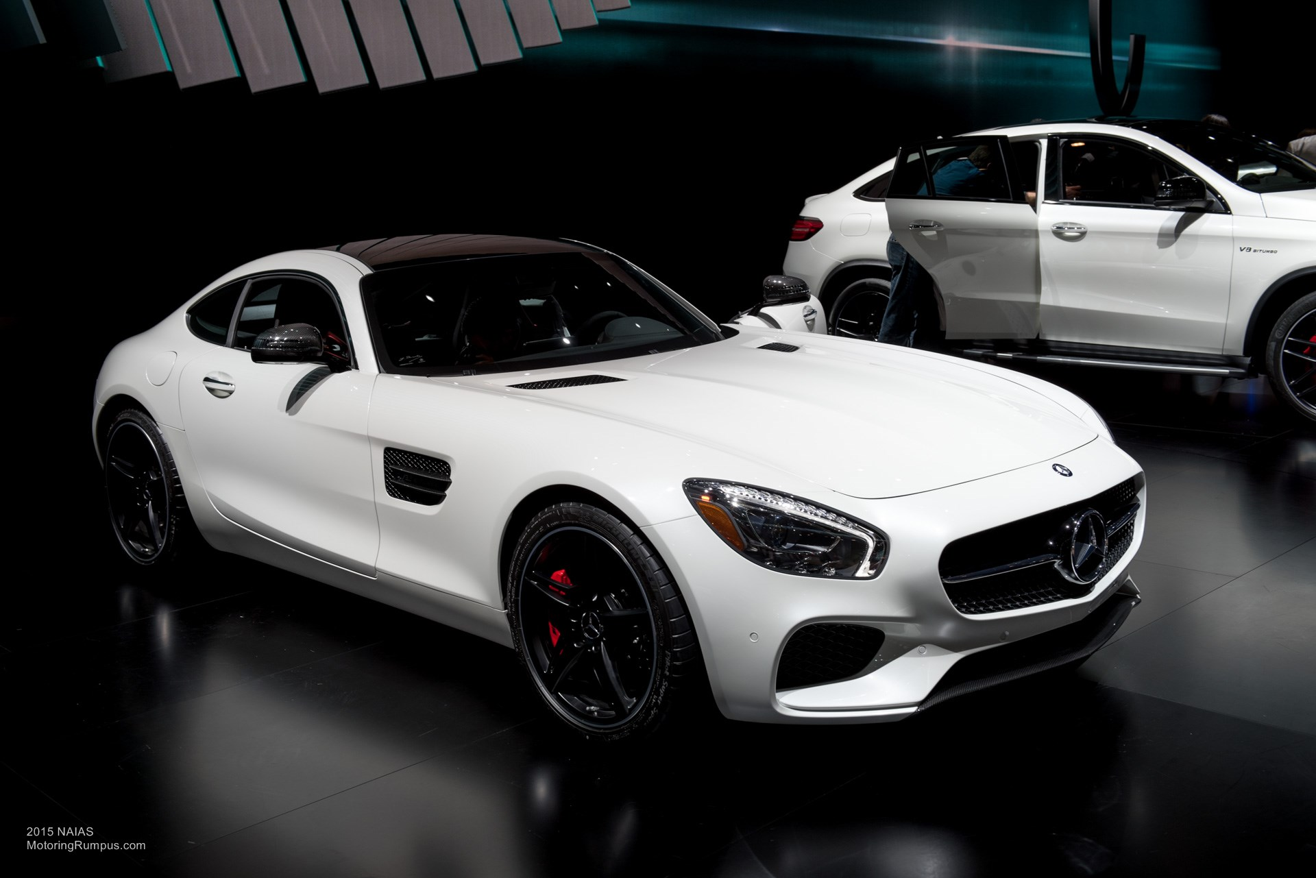2015 NAIAS Mercedes AMG GT S Front