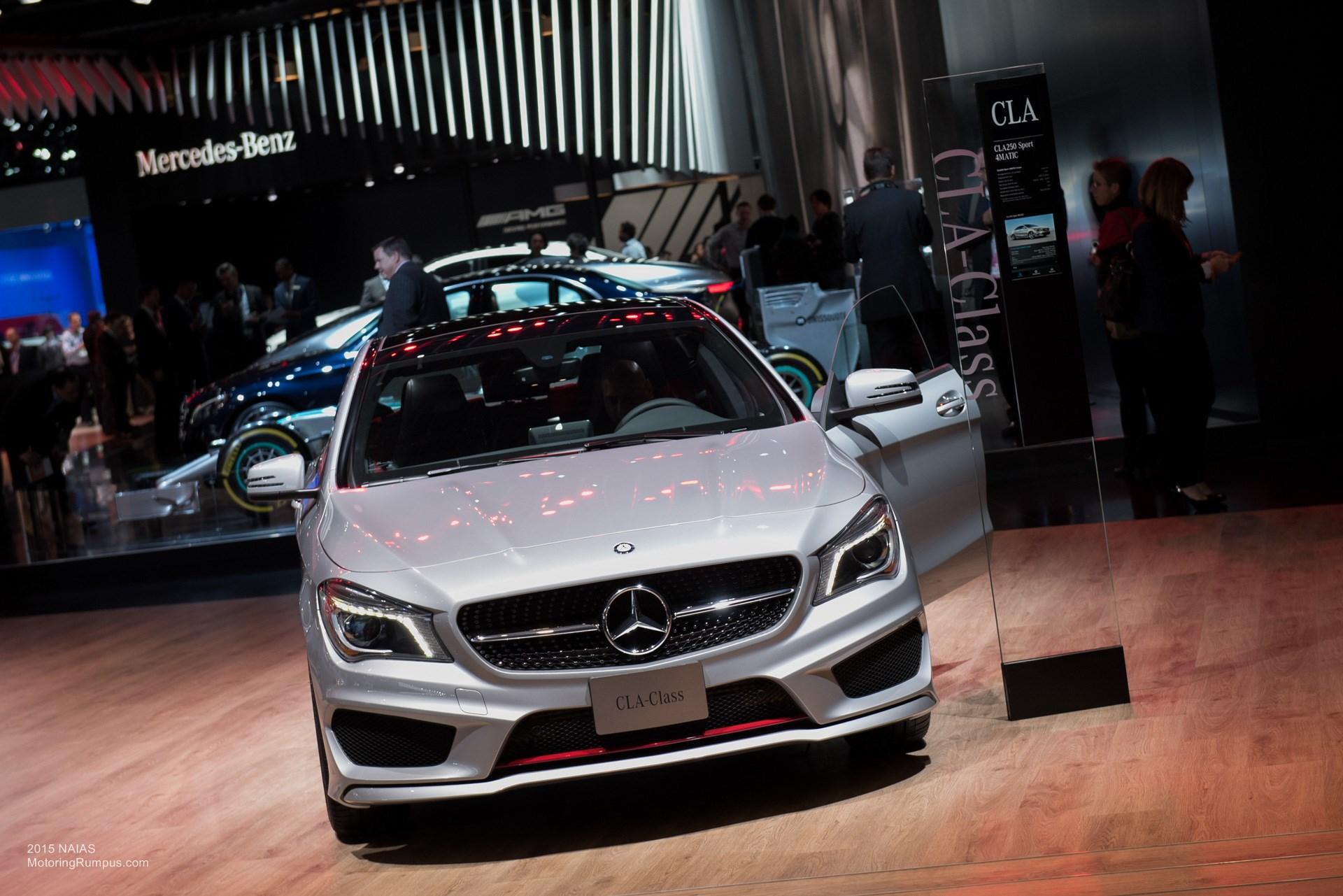 2015 NAIAS Mercedes-Benz CLA250