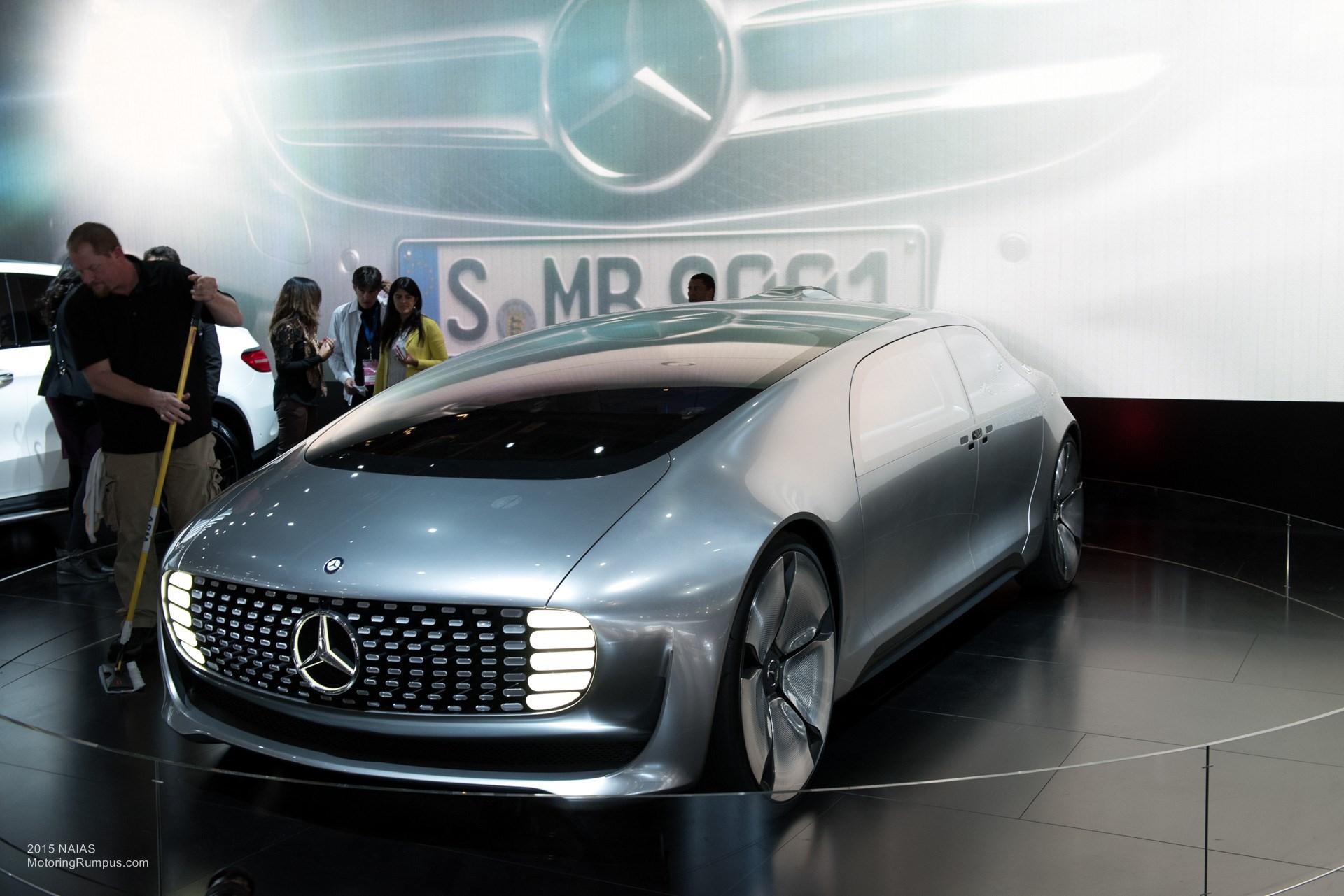 2015 NAIAS Mercedes-Benz F 015