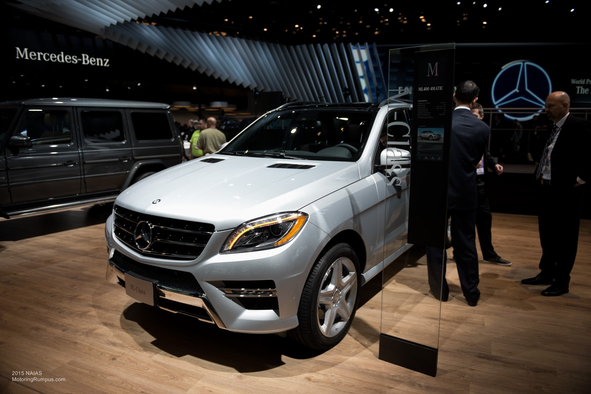 2015 NAIAS Mercedes-Benz ML400