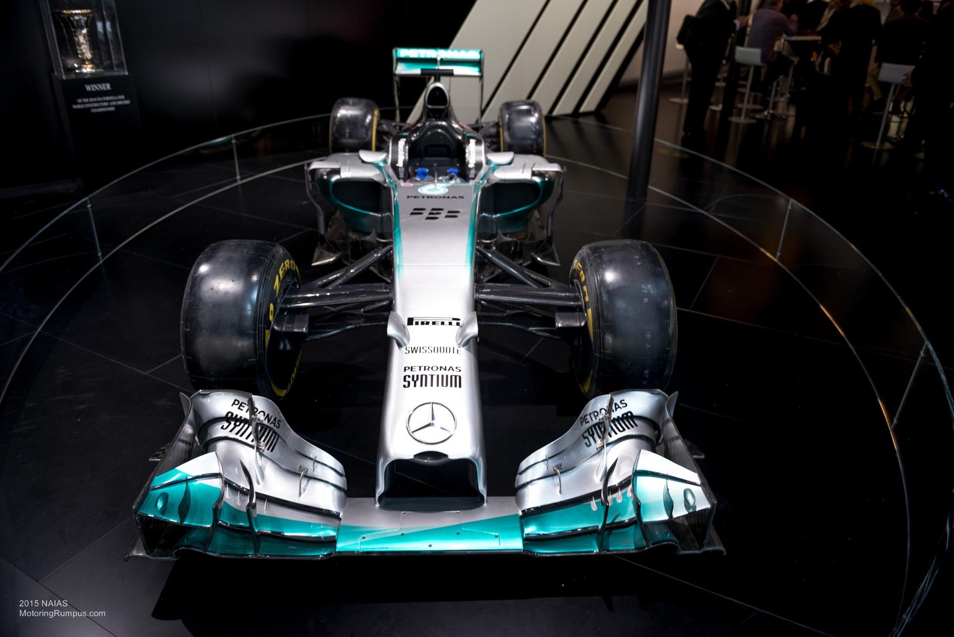 2015 NAIAS Mercedes F1 Car