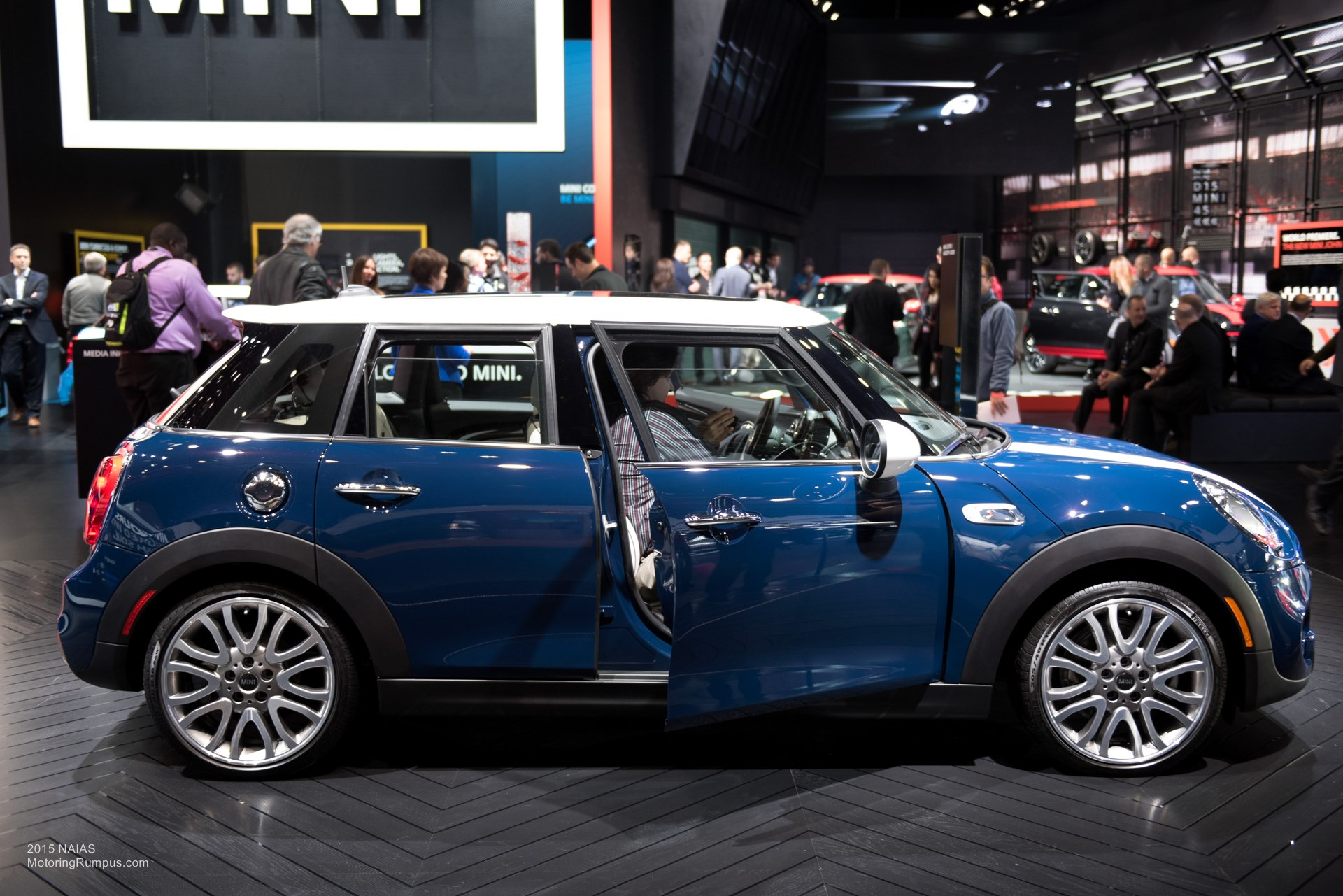 2015 NAIAS Mini Cooper