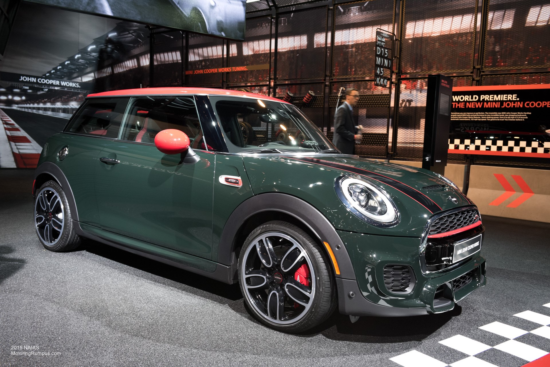 2015 NAIAS Mini John Cooper Works