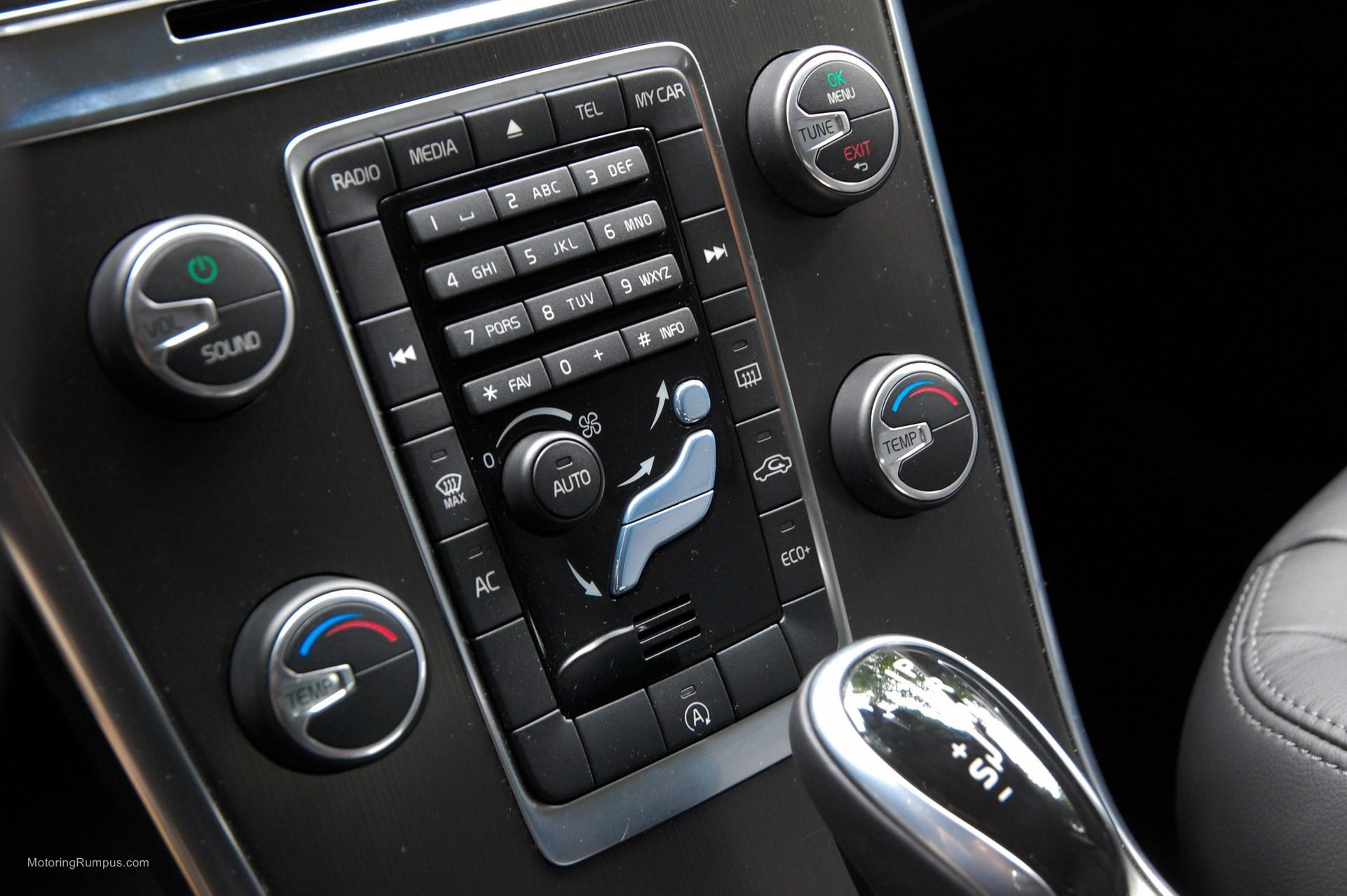 2015 Volvo XC60 Climate Control