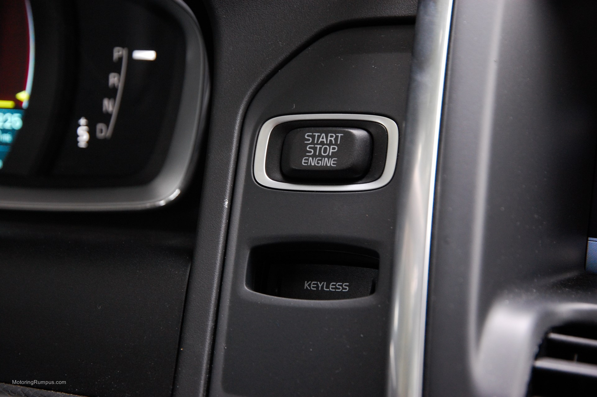 2015 Volvo XC60 Start Button