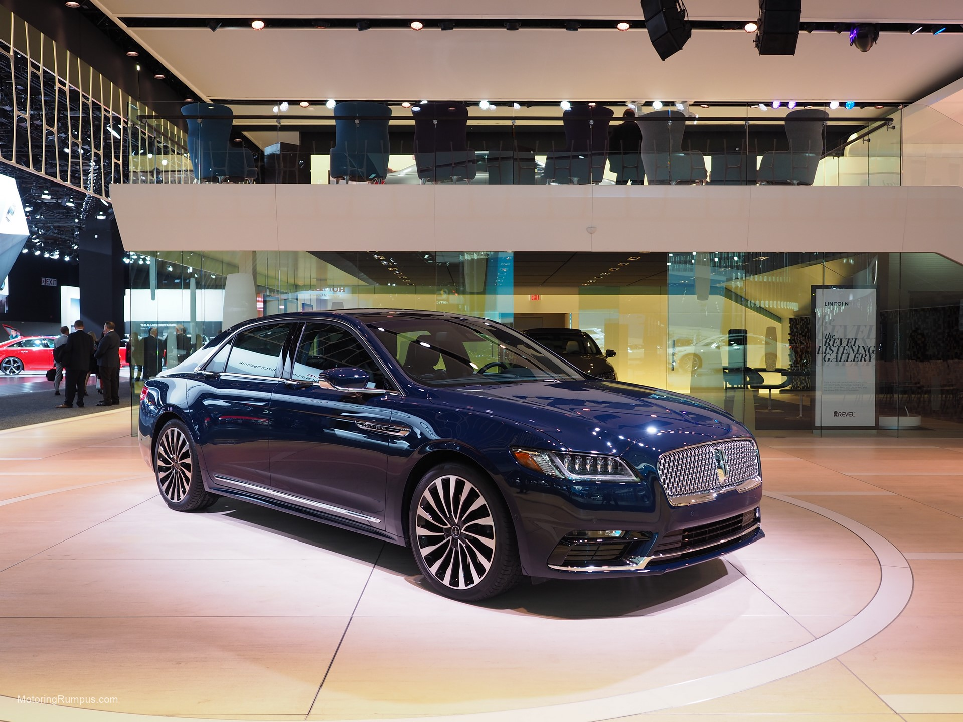 2016 NAIAS 2017 Lincoln Continental Black Label