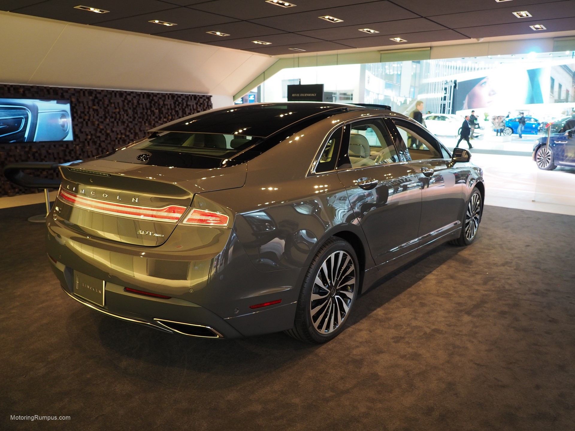 2016 naias 2017 lincoln mkz motoring rumpus. Black Bedroom Furniture Sets. Home Design Ideas
