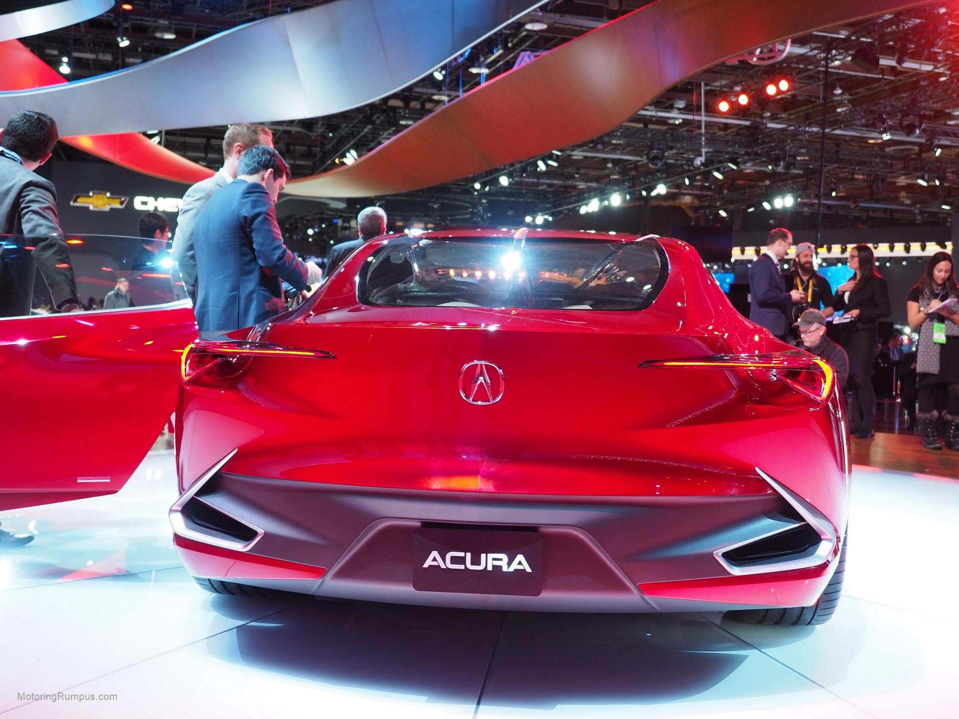2016 Naias Acura Precision Concept Rear Motoring Rumpus