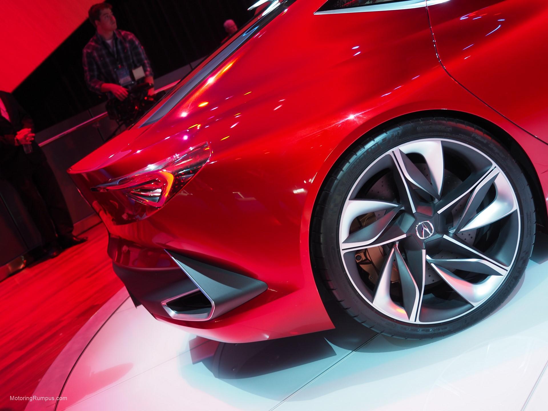 2016 NAIAS Acura Precision Concept Wheel