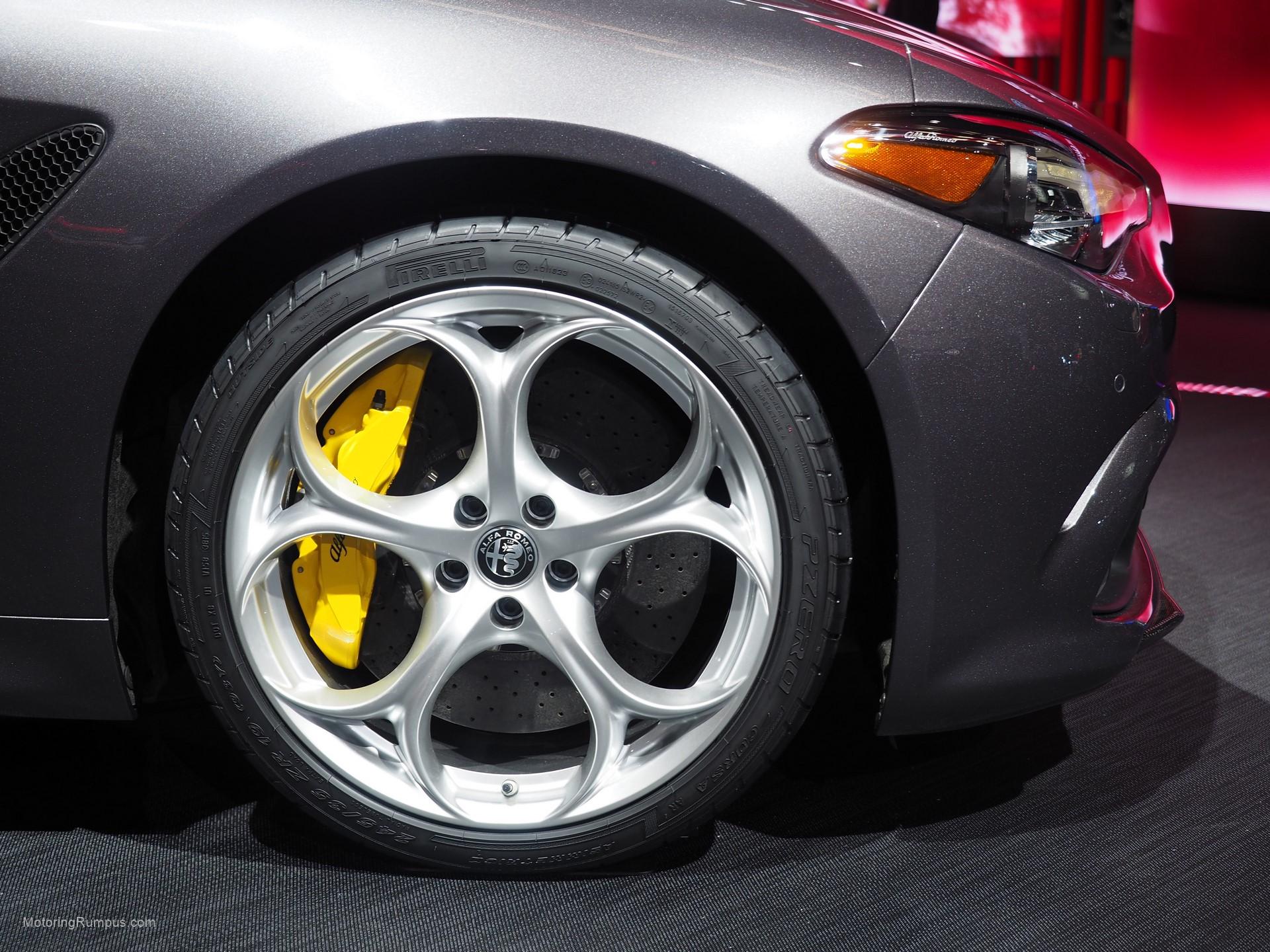 2016 Naias Alfa Romeo Giulia 19 Inch Wheel Motoring Rumpus
