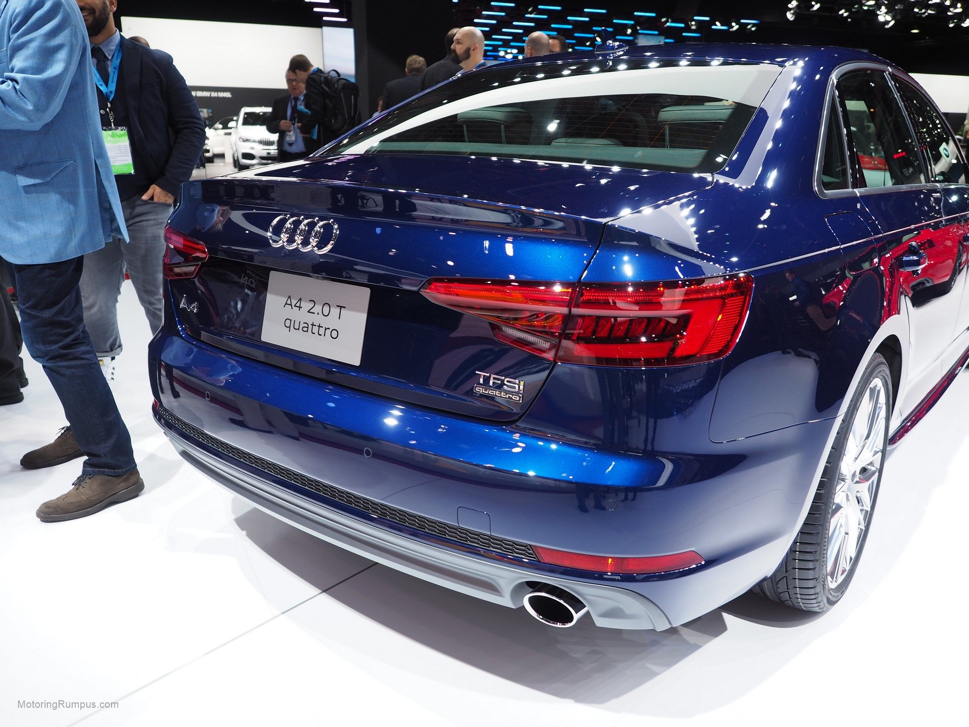 2016 Naias Audi A4 Rear Motoring Rumpus