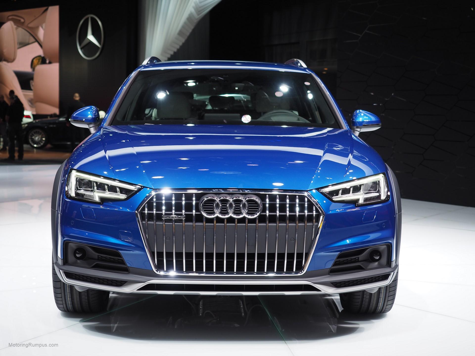 2016 Naias Audi A4 Allroad Front Motoring Rumpus