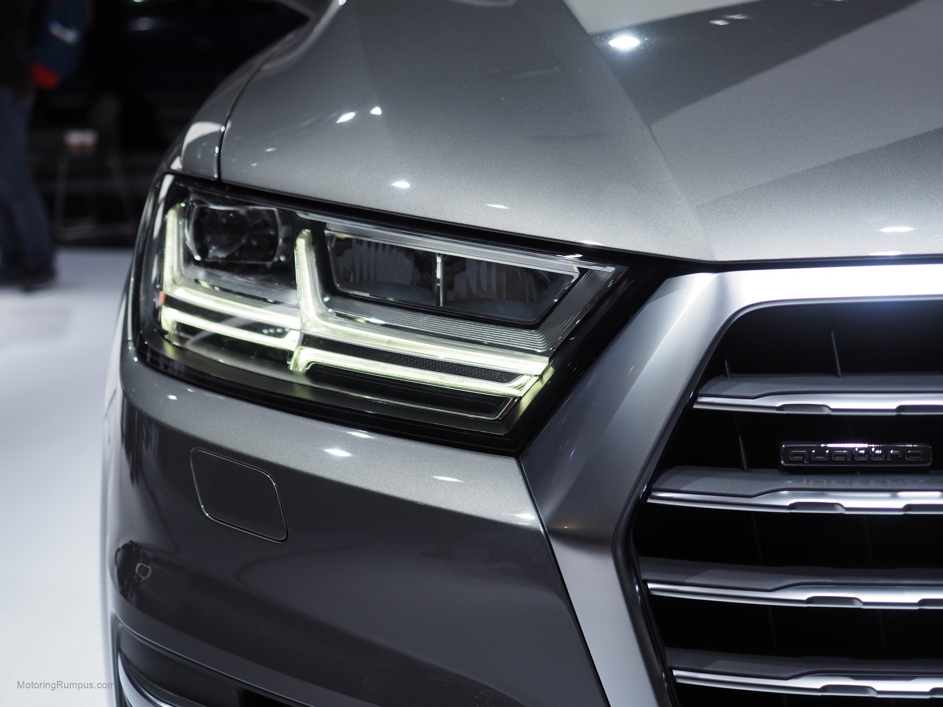 2016 Naias Audi Q7 Headlight Motoring Rumpus
