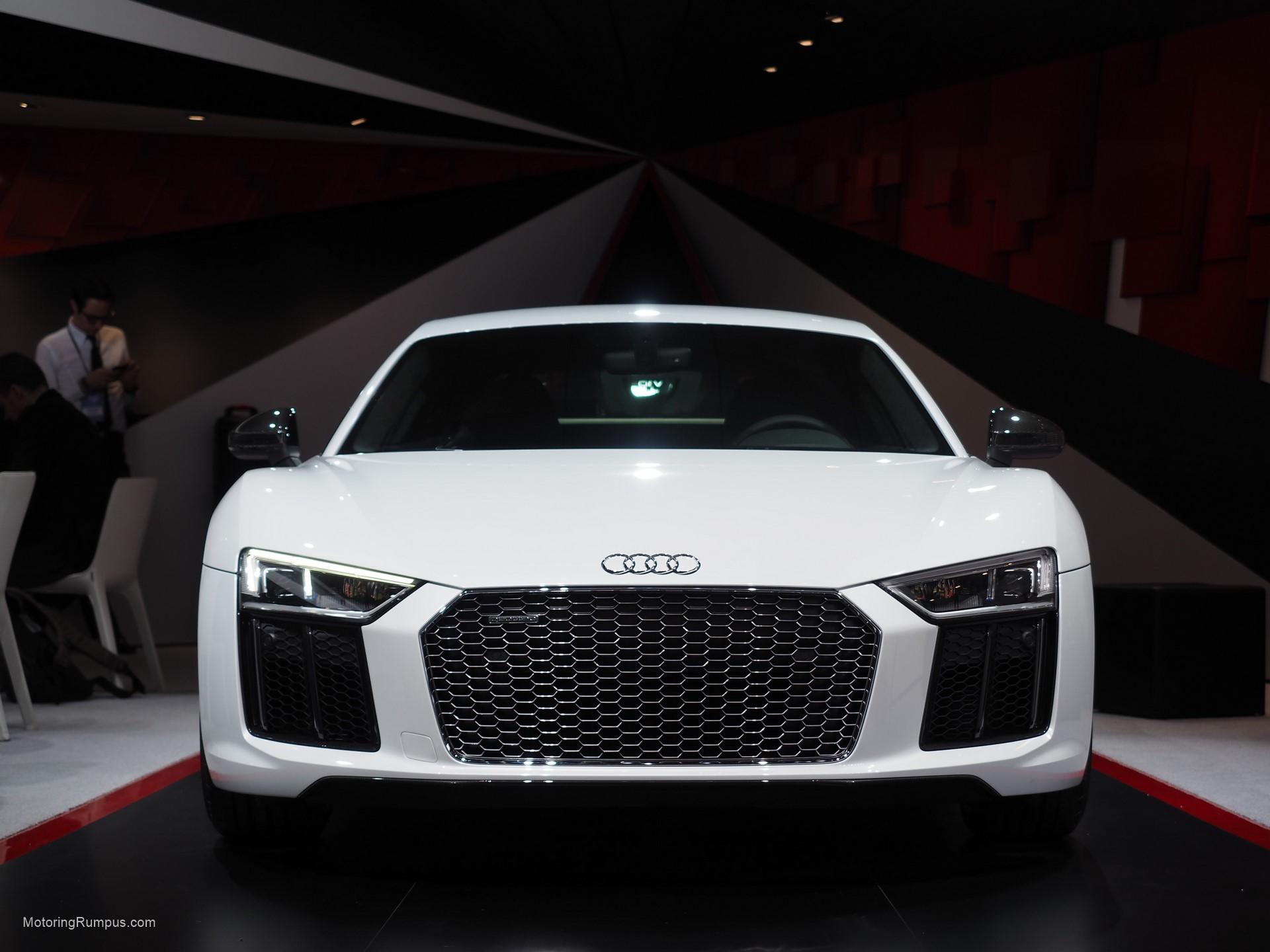 2016 NAIAS Audi R8