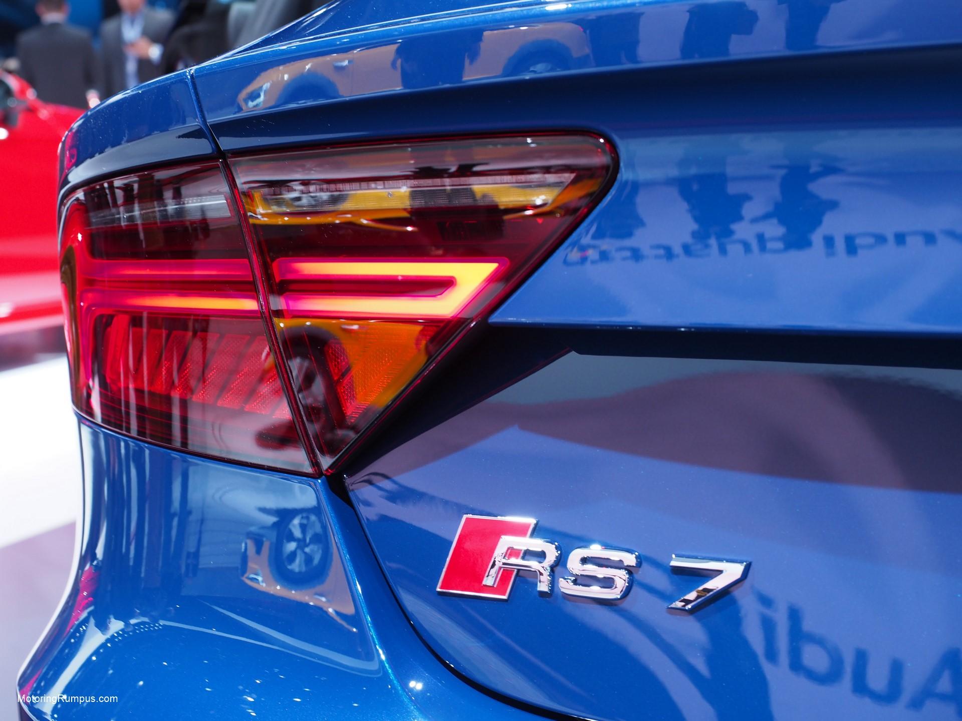 2016 NAIAS Audi RS7 Rear