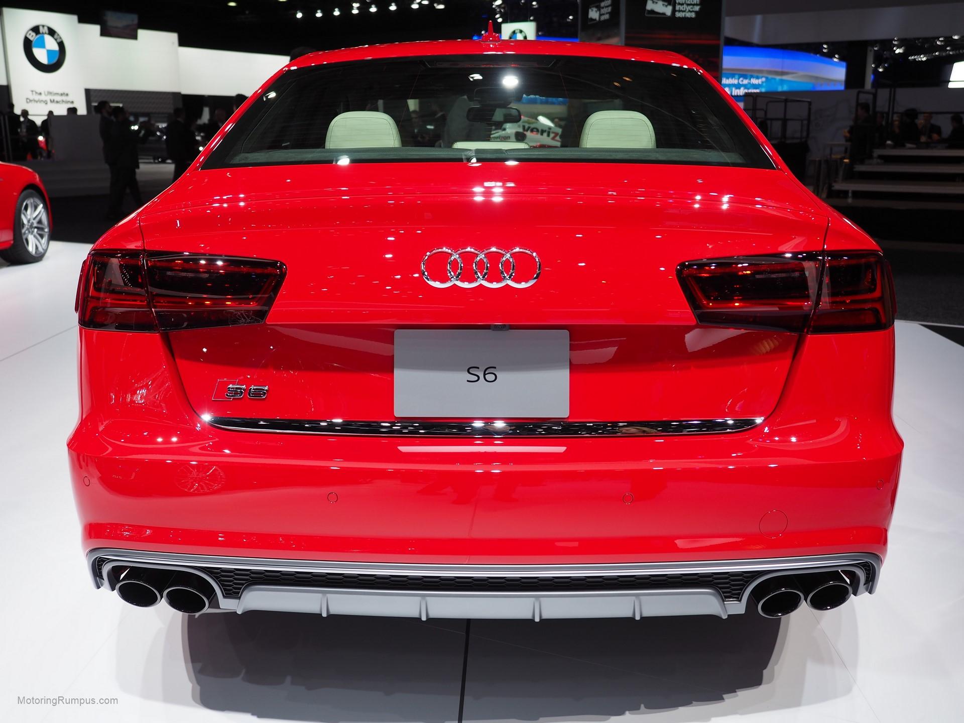 2016 Naias Audi S6 Rear Motoring Rumpus