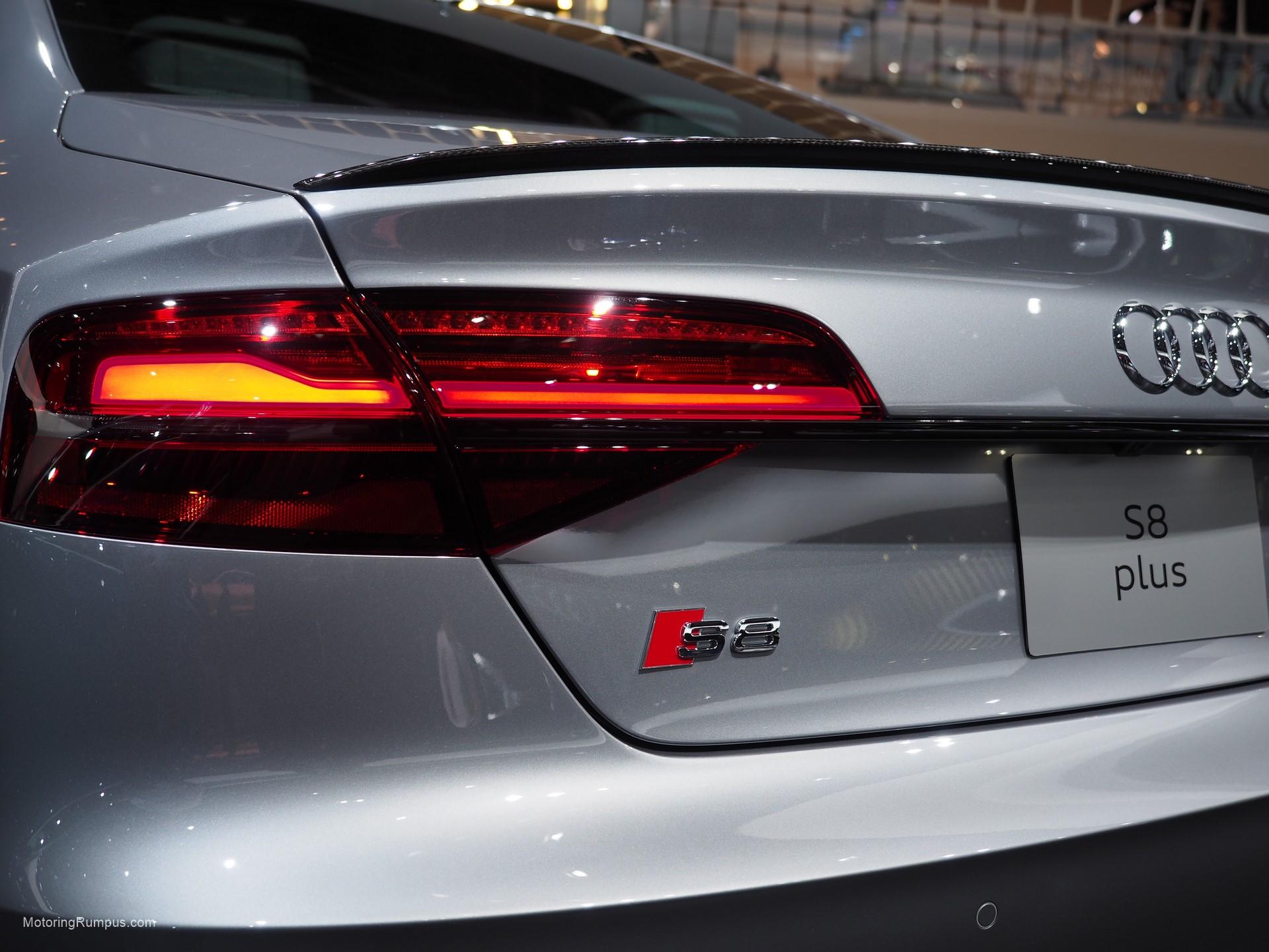 2016 NAIAS Audi S8 Rear