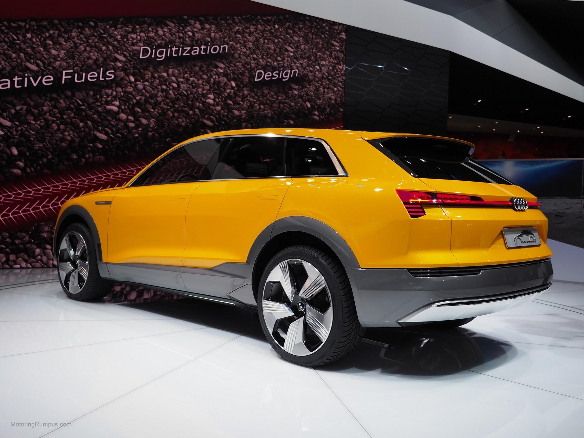 2016 Naias Audi H Tron Quattro Concept Rear Motoring Rumpus