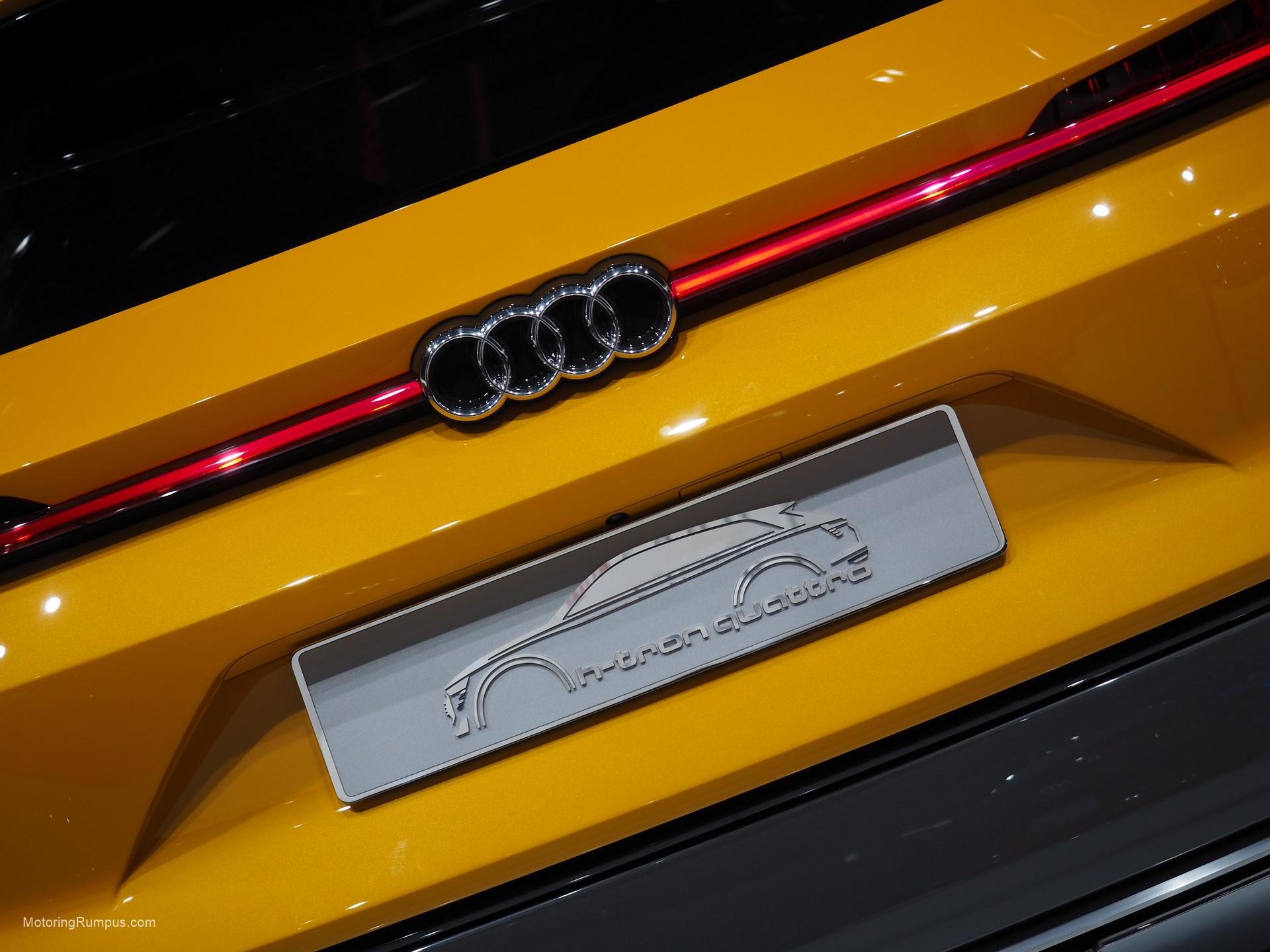 2016 Naias Audi H Tron Quattro Concept Tailgate Motoring